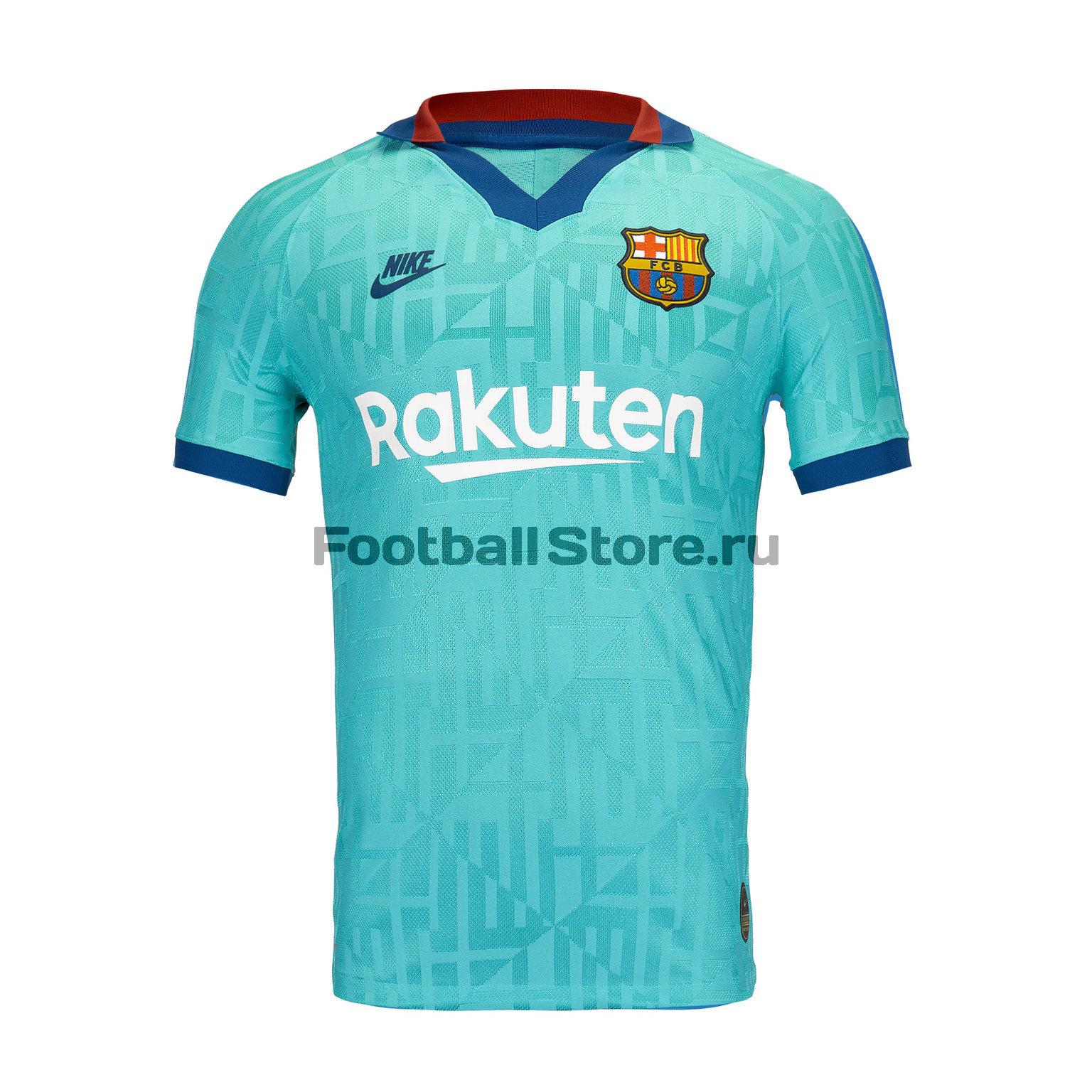Оригинальная резервная футболка Nike Barcelona 2019/20