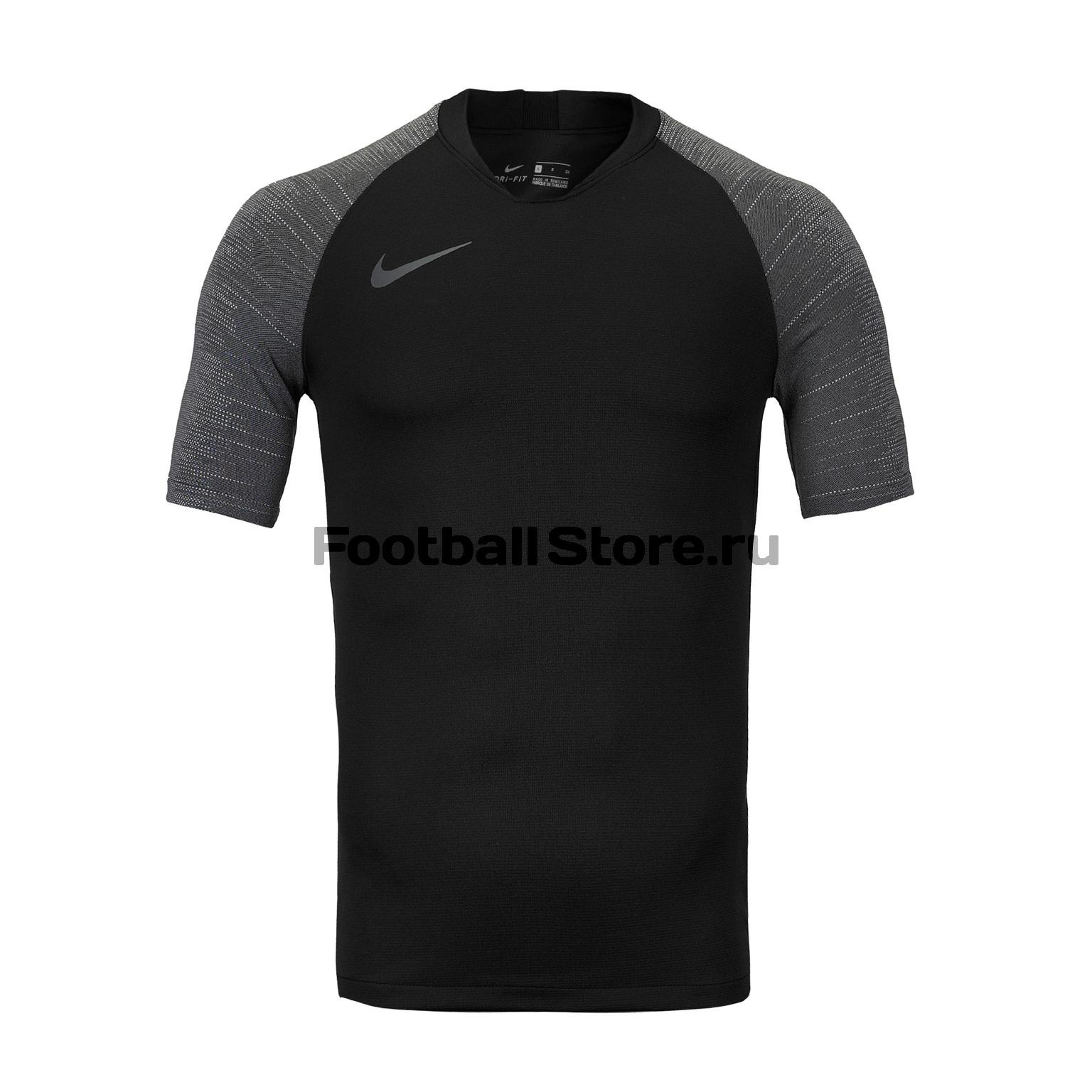 Футболка тренировочная Nike Strike Top AT5870-010 футболка тренировочная nike strike top at5870 010