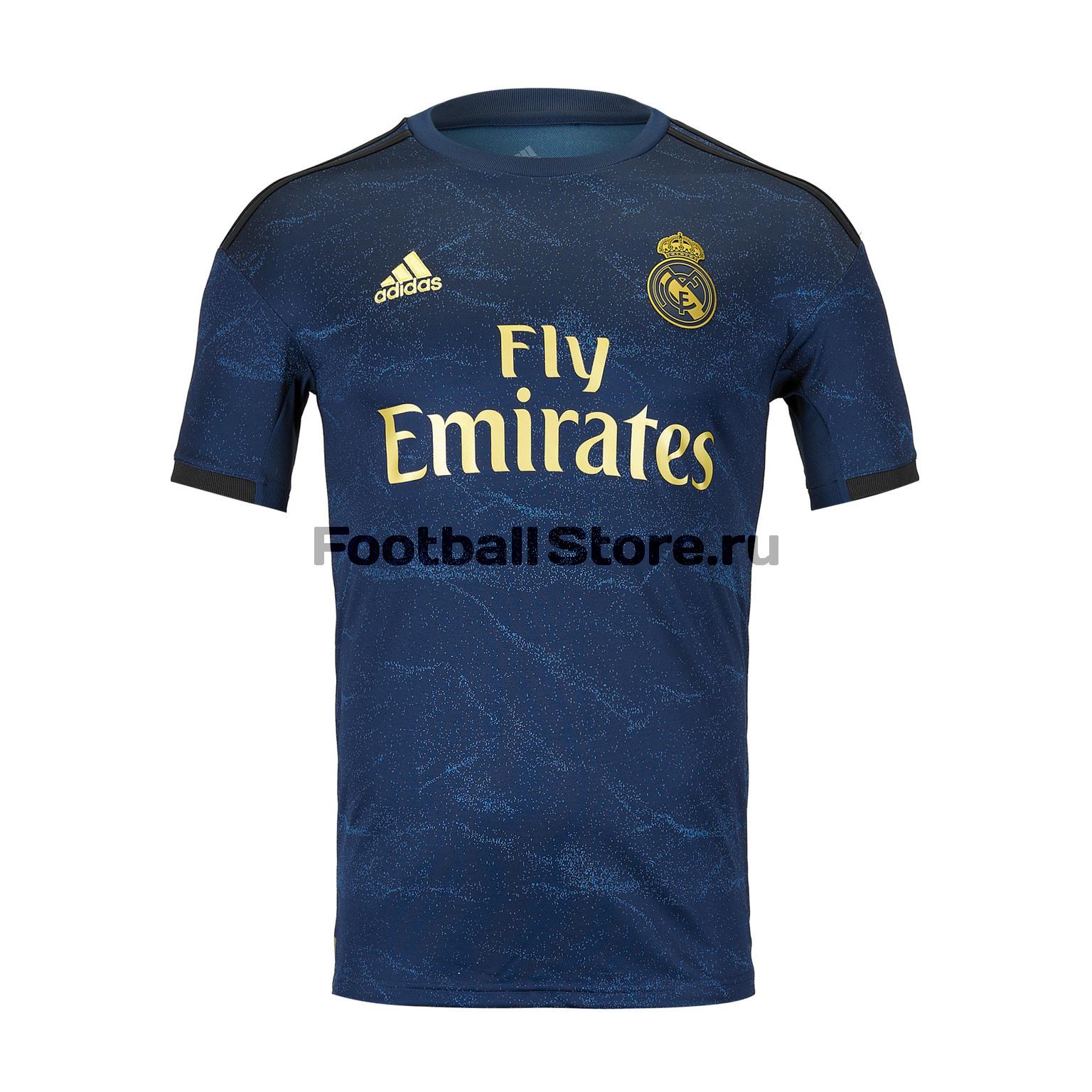 Футболка игровая выездная Adidas Real Madrid 2019/20 цена