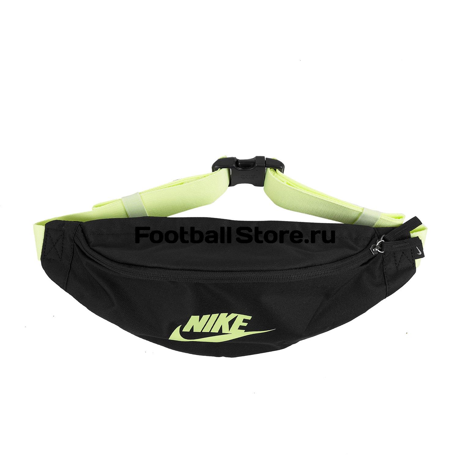купить Сумка на пояс Nike Heritage Hip Pack BA5750-015 по цене 1490 рублей