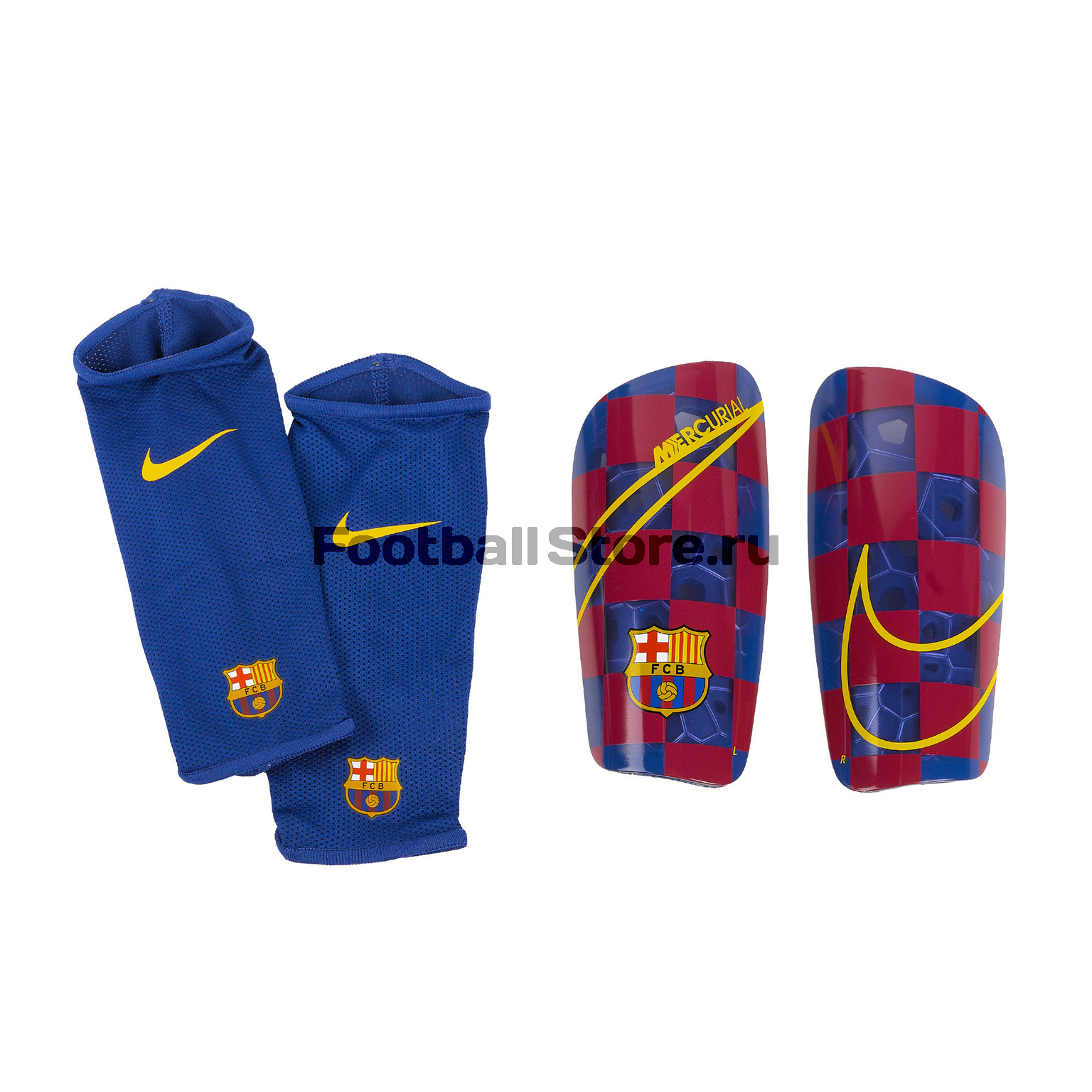 Щитки Nike Barcelona Mercurial Lite SP2171-455 обувь для зала nike mercurial x finale ii ic 831974 616
