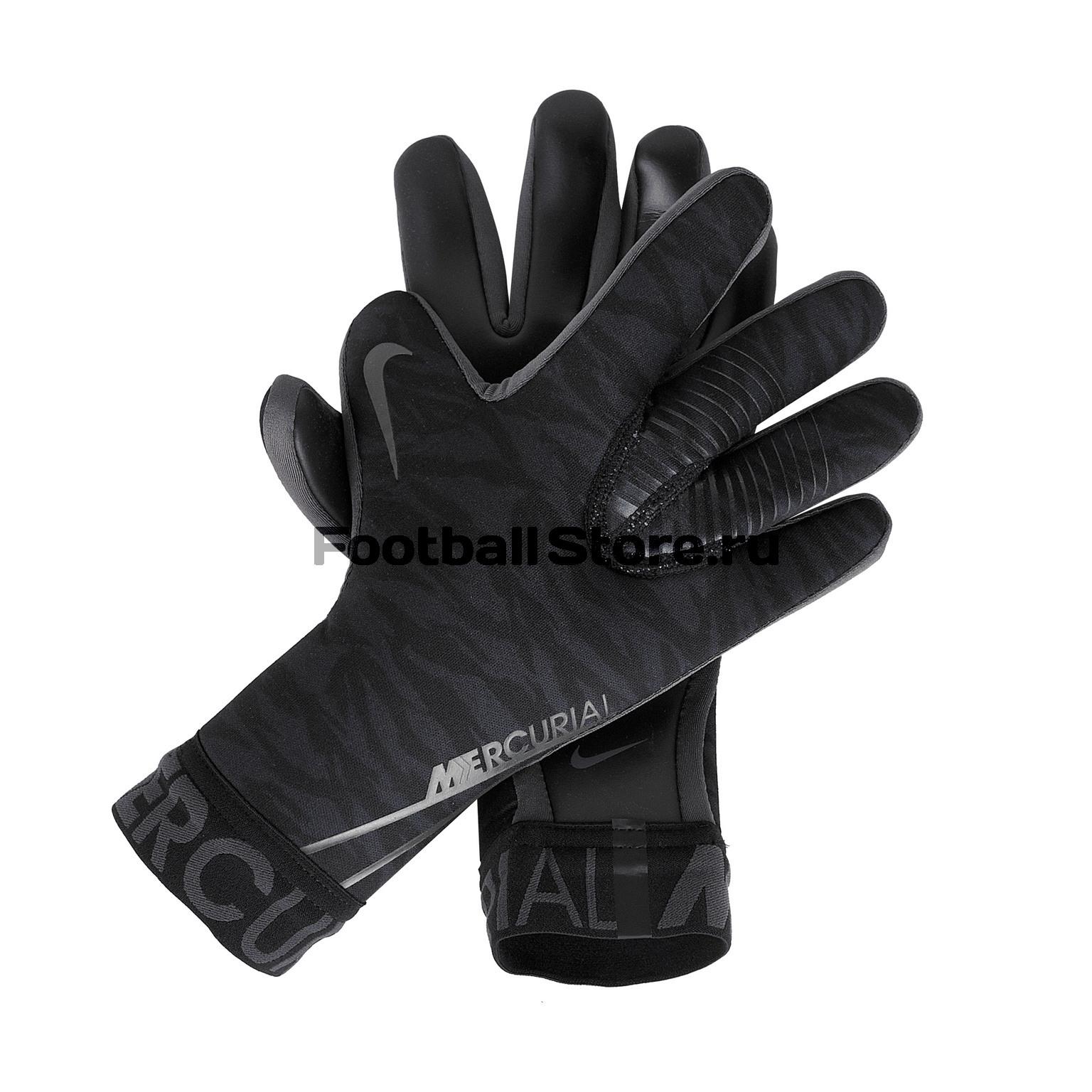 цена Перчатки вратарские Nike Mercurial Touch Victory GS2885-010 в интернет-магазинах