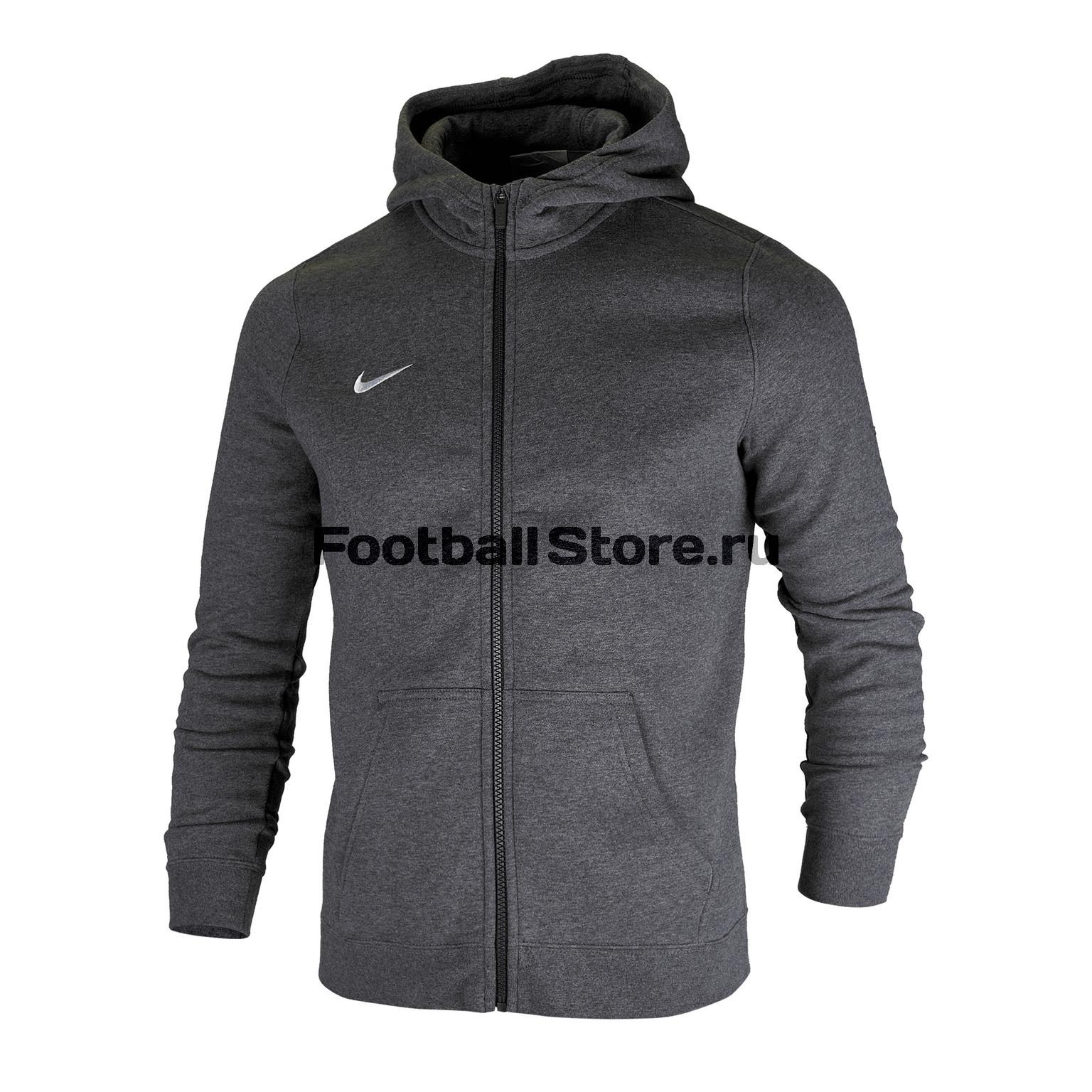 Толстовка подростковая Nike Hoodie FZ FLC Club19 AJ1458-071