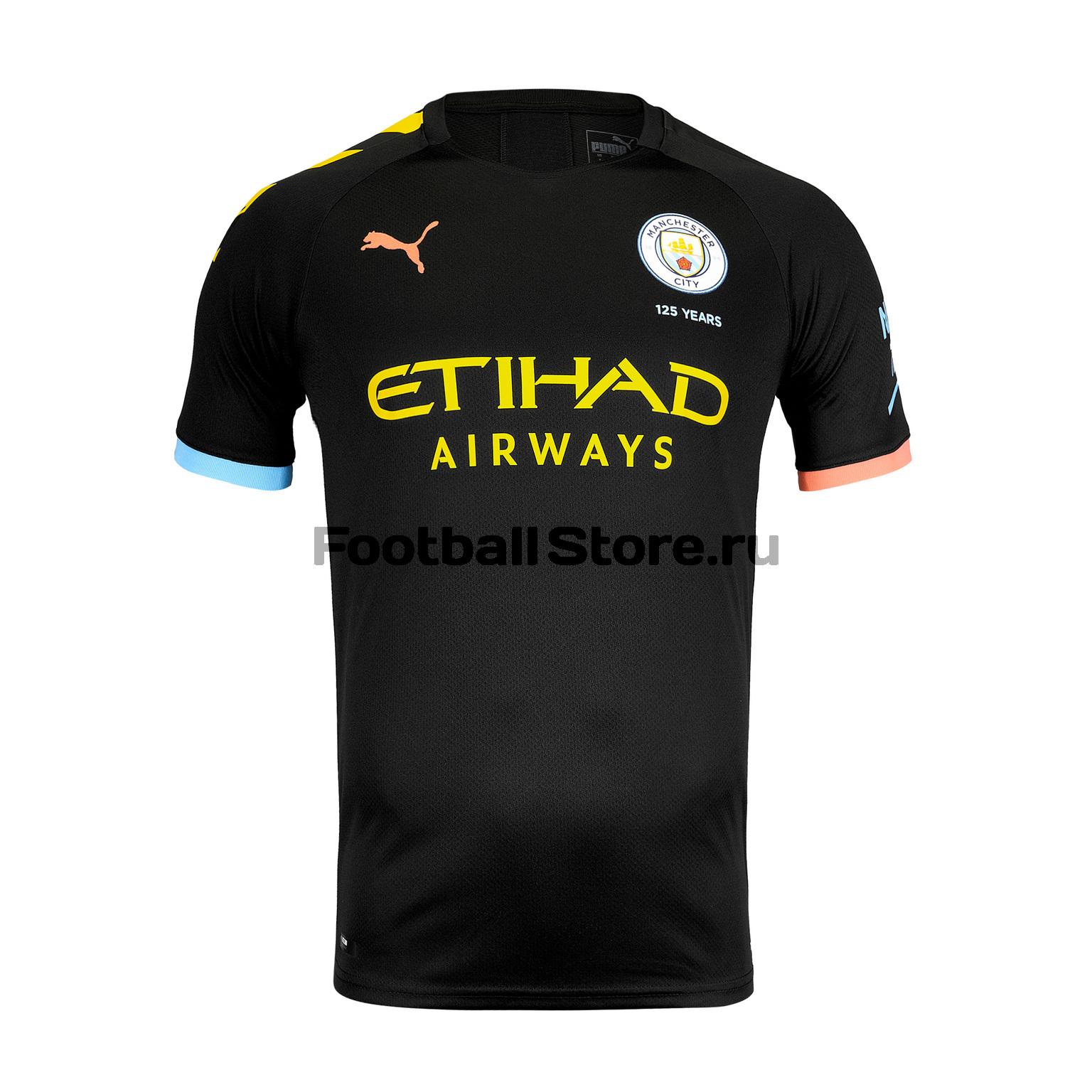 Футболка игровая выездная Puma Manchester City 2019/20 костюм спортивный puma puma pu053ebegdc3