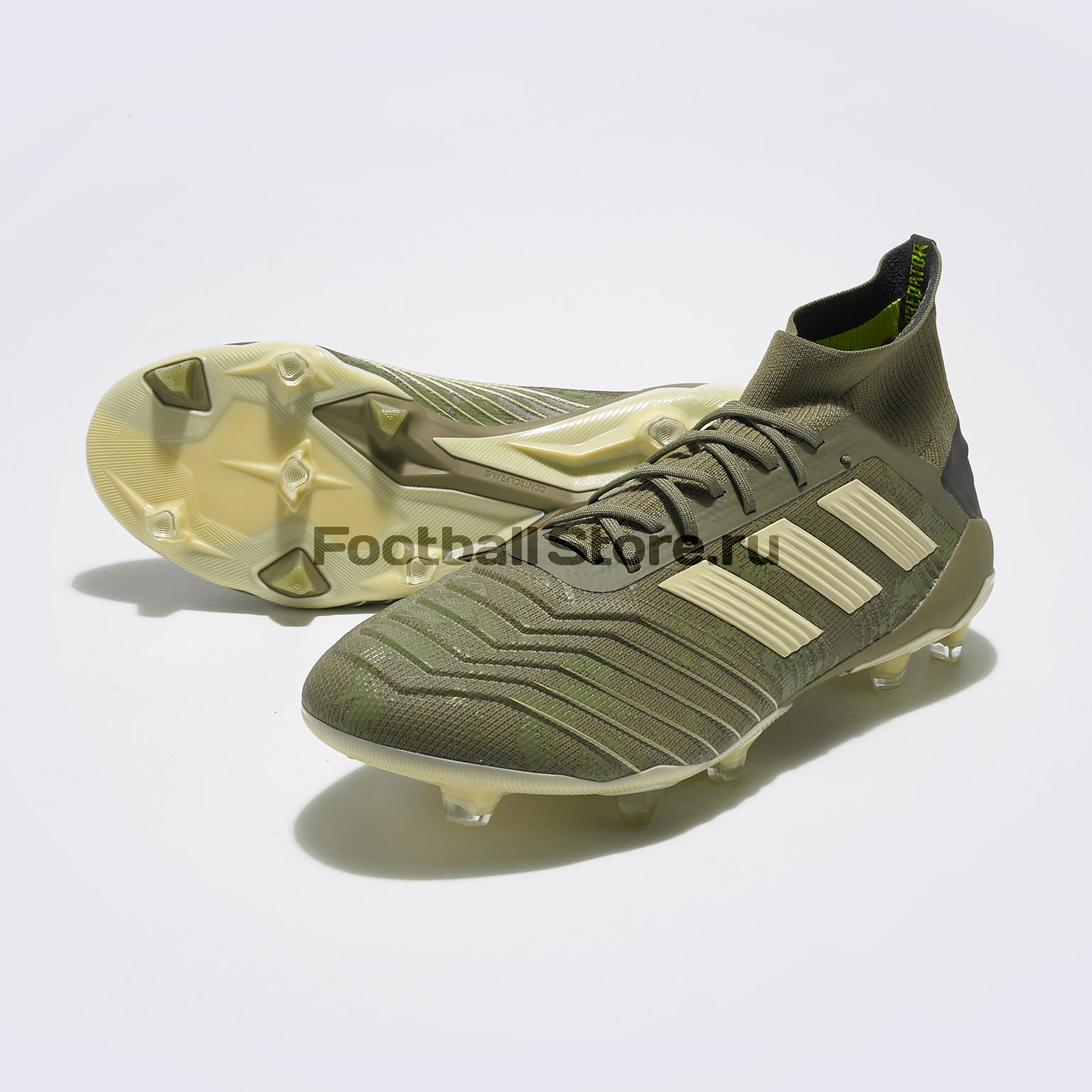 Бутсы Adidas Predator 19.1 FG EF8205 бутсы adidas predator 18 3 fg db2001