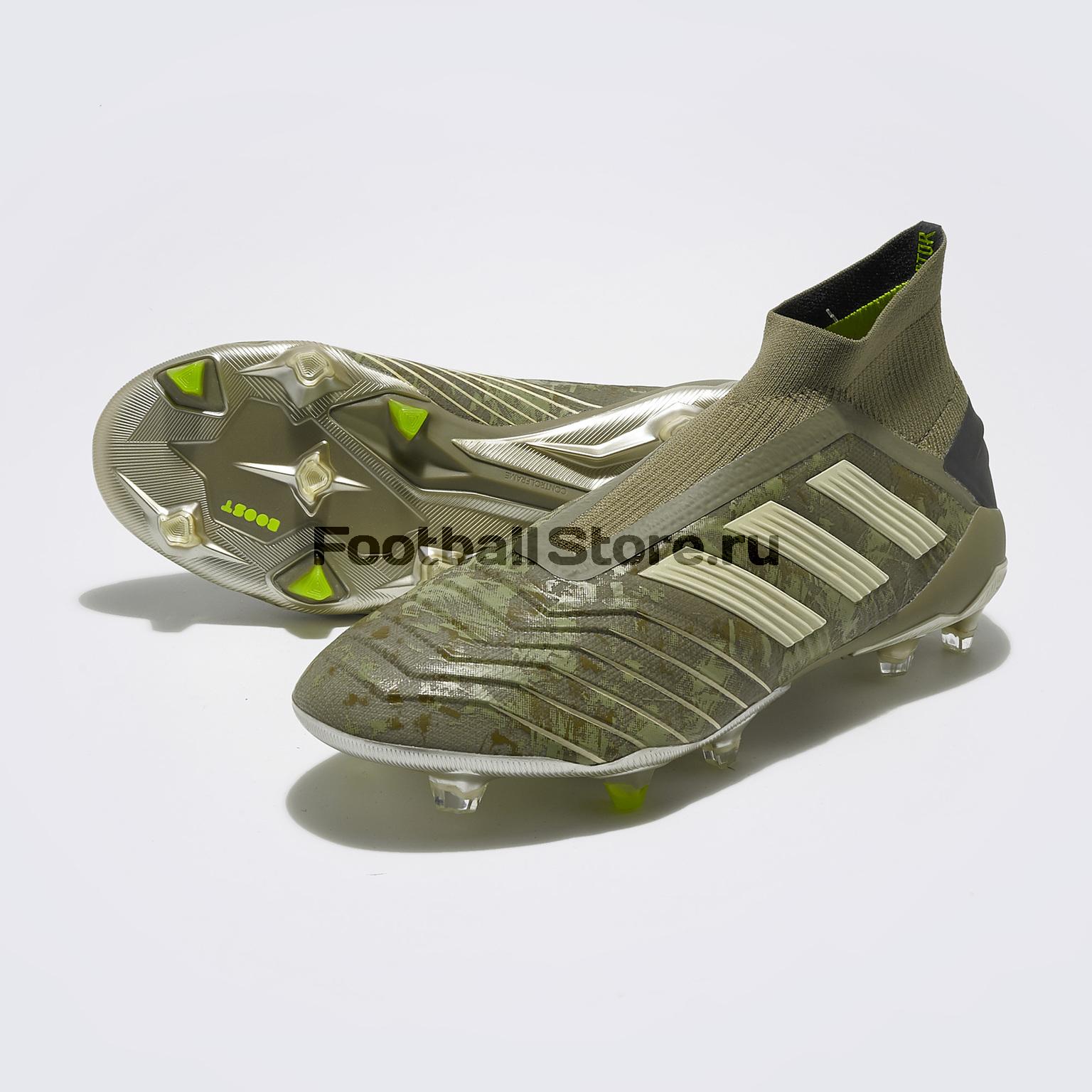Бутсы Adidas Predator 19+ FG EF8204 бутсы adidas predator 18 3 fg db2001
