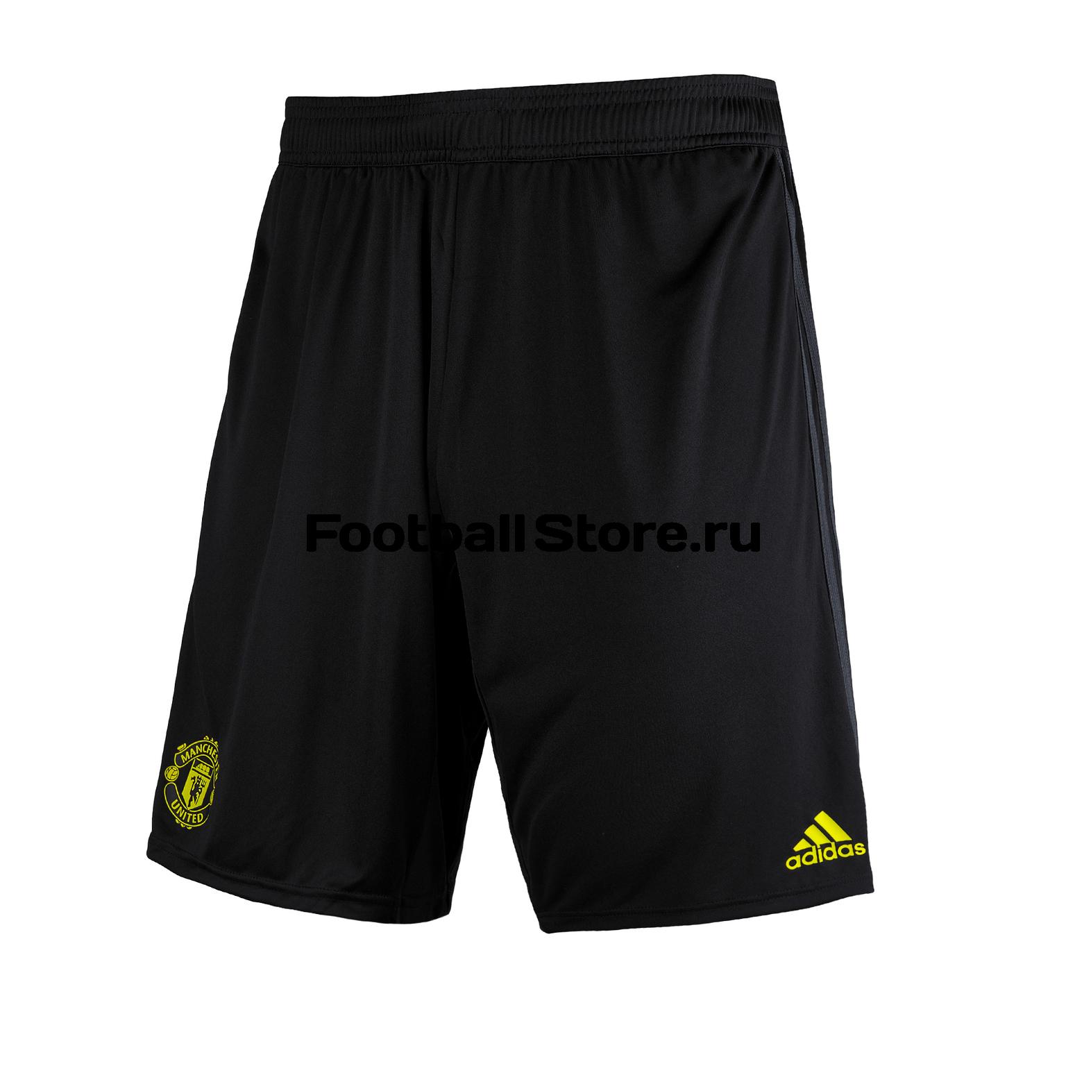 Шорты тренировочные Adidas Manchester United 2019/20 шорты тренировочные adidas manchester united 2019 20
