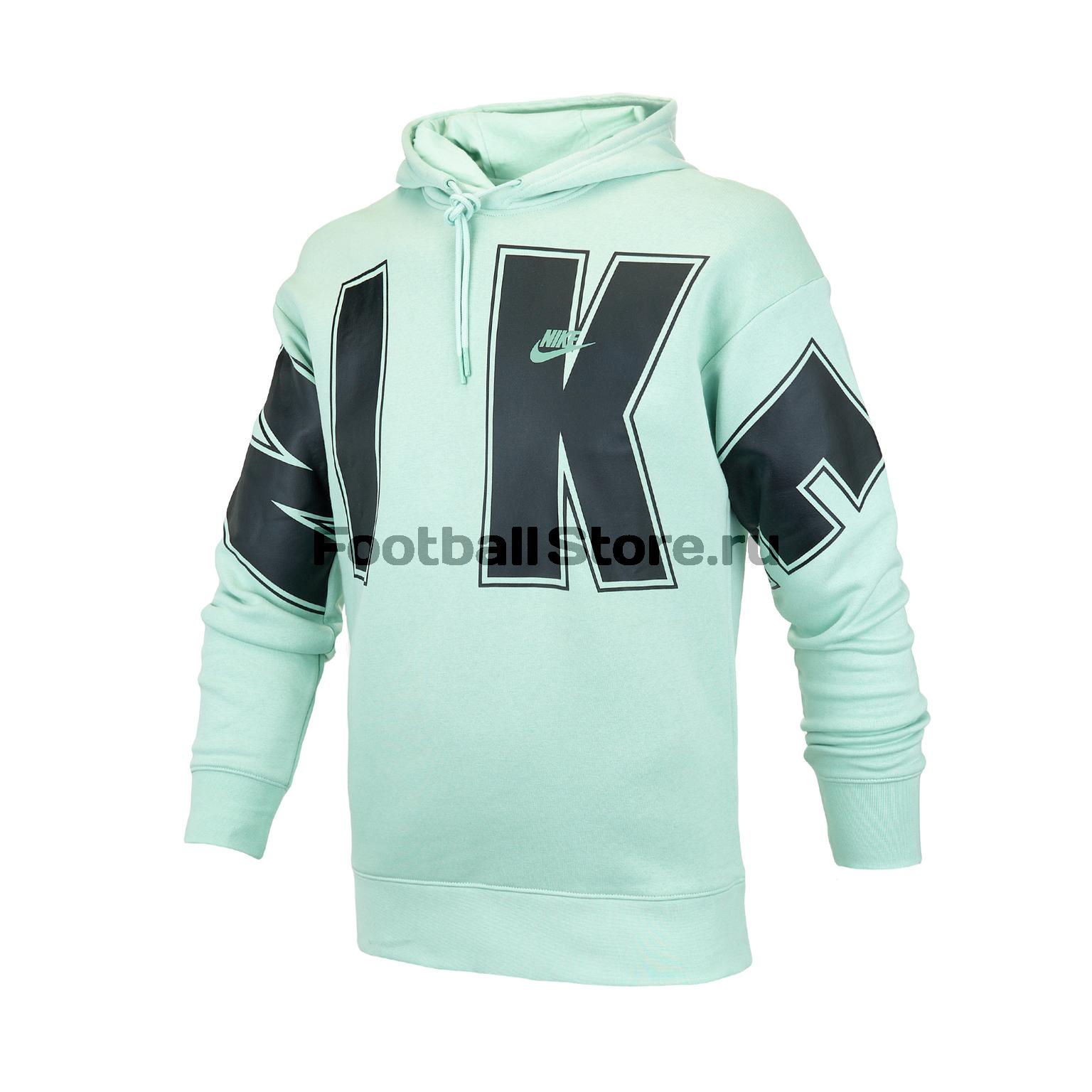 Толстовка Nike Fleece Hoodie CQ0242-321 цена