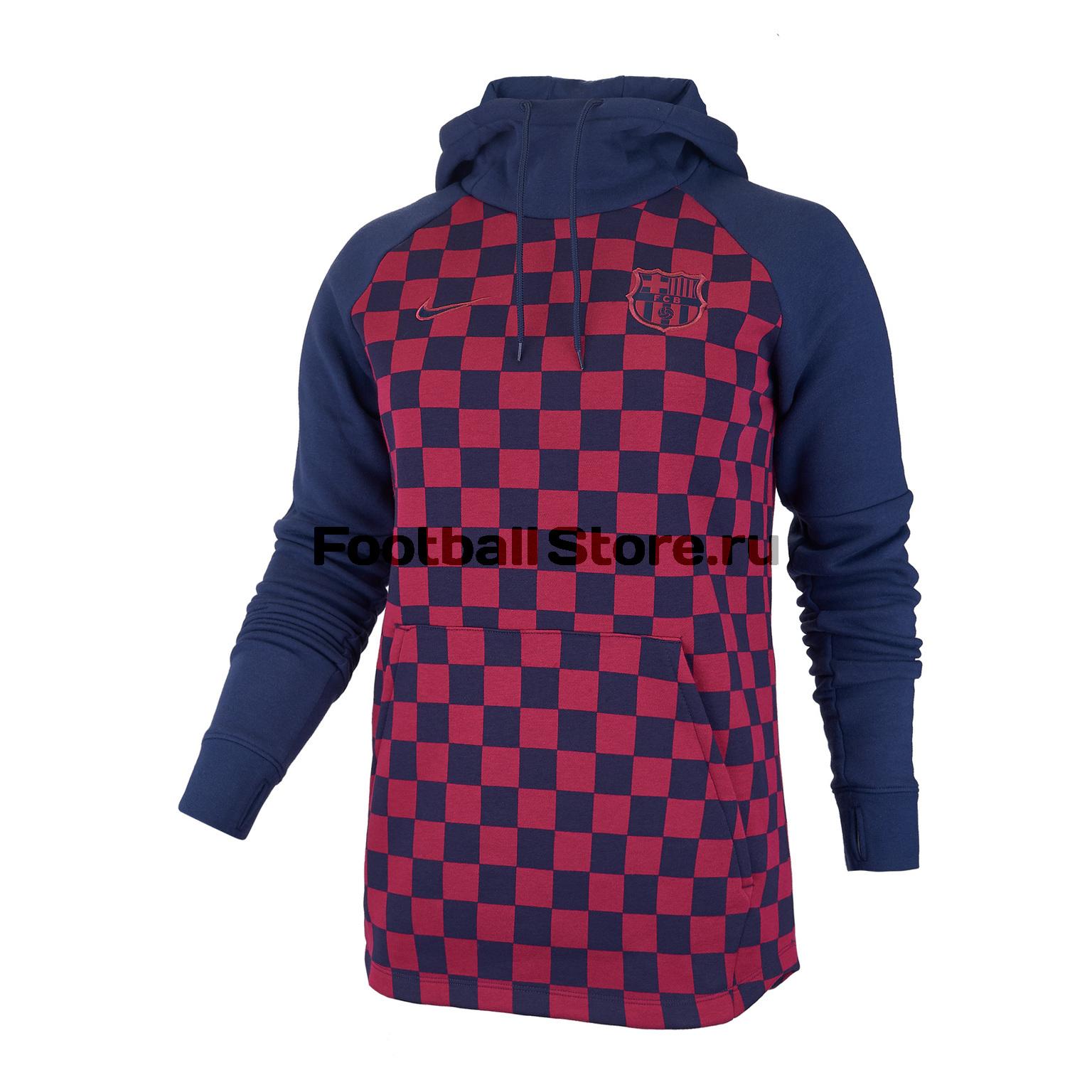 Толстовка женская Nike Barcelona Fleece AT4475-451 цена