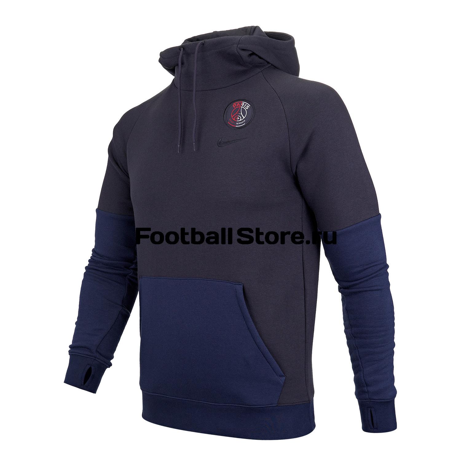 Толстовка Nike PSG Fleece AT4421-080 цена