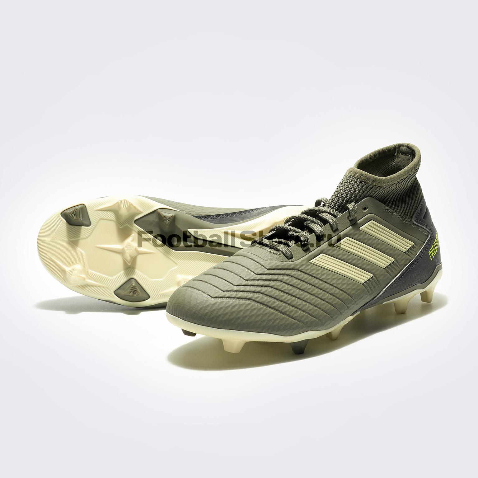 Бутсы Adidas Predator 19.3 FG EF8208 бутсы adidas predator 18 3 fg db2001