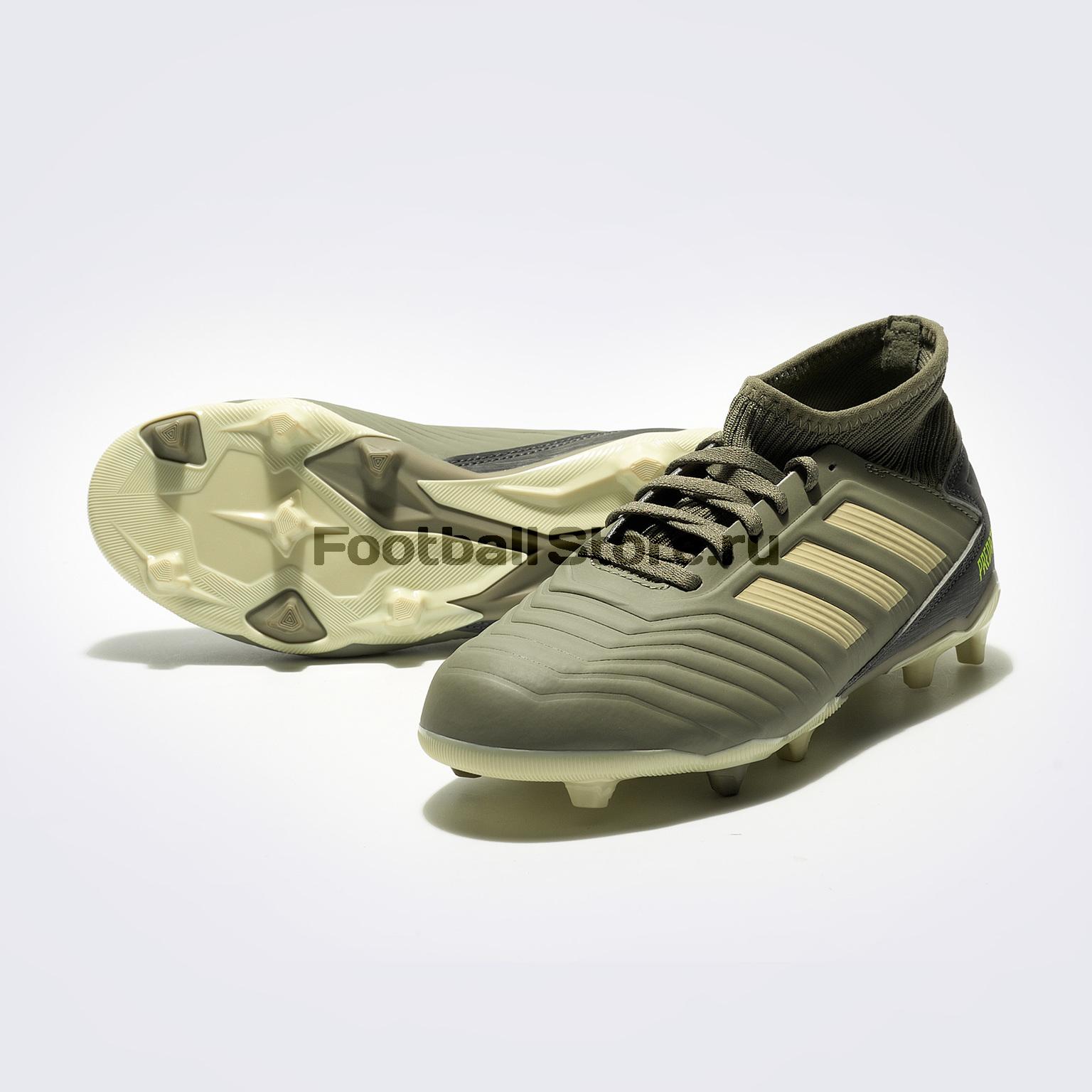 Бутсы детские Adidas Predator 19.3 FG EF8215 бутсы adidas predator 18 3 fg db2001