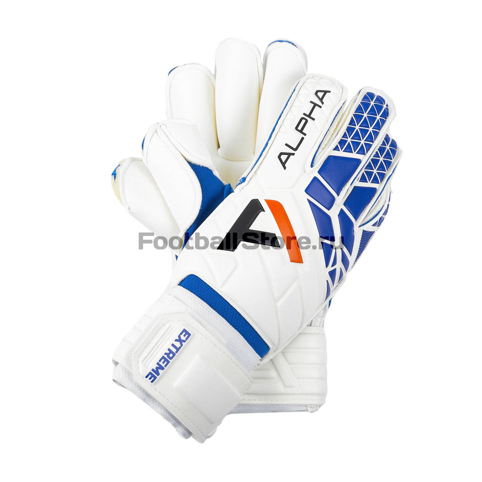 Перчатки вратарские AlphaKeepers Pro Roll Extreme 9 1411-100 перчатки вратарские alphakeepers pro roll extreme p5 1465 010