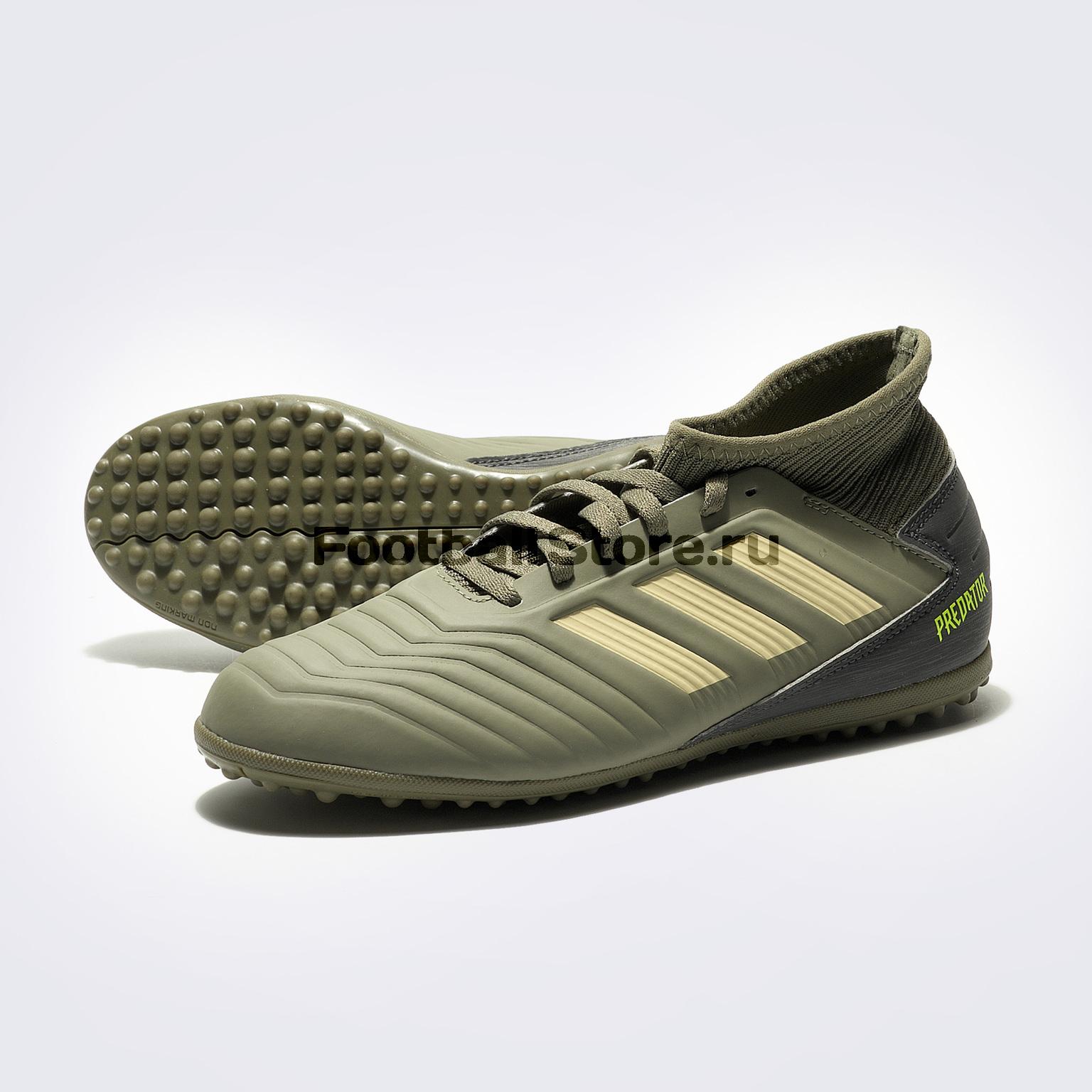 Шиповки детские Adidas Predator 19.3 TF EF8220 шиповки детские adidas x tango 18 3 tf db2422