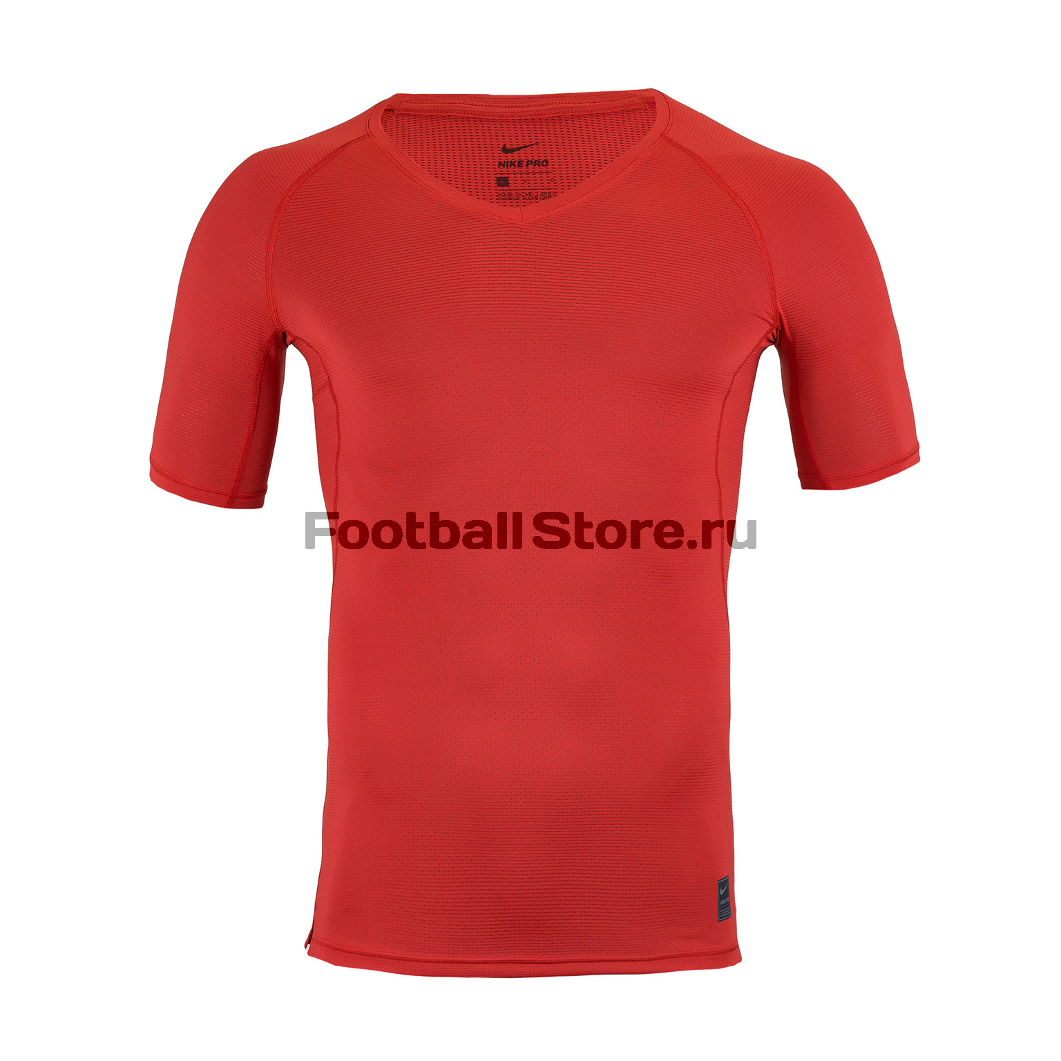 цена Белье футболка Nike GFA Hypercool Top Comp 927210-657 онлайн в 2017 году