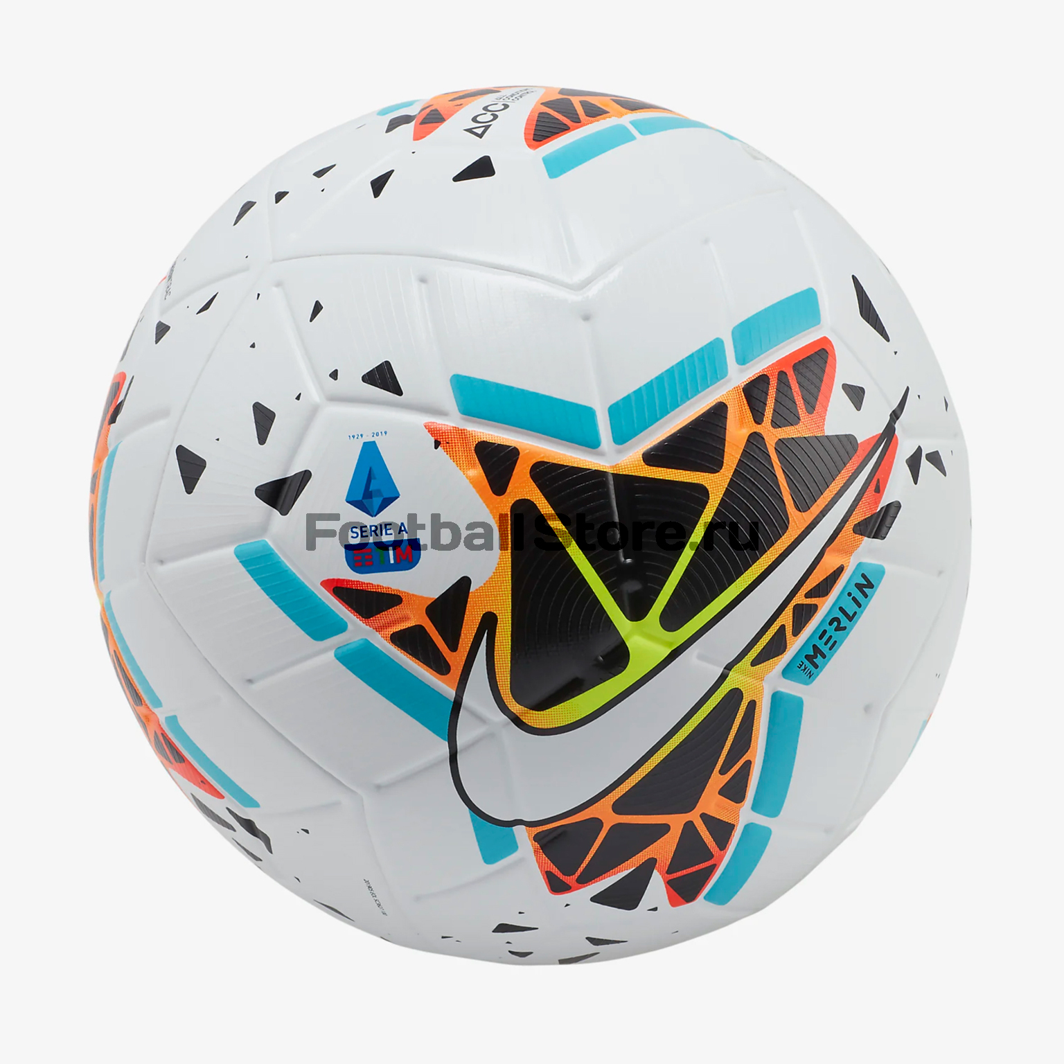 Футбольный мяч Nike Serie A Merlin SC3627-100 мяч баскетбольный nike nike ni464duftho0