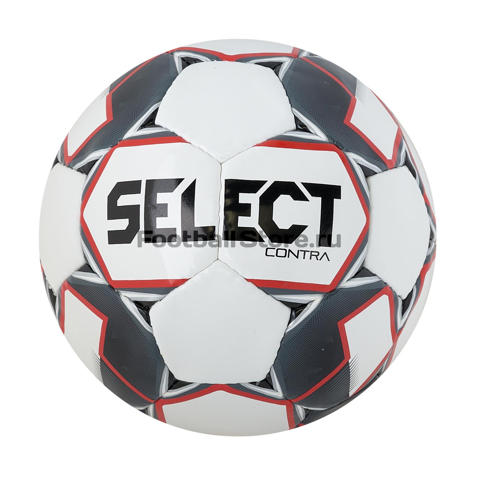 Футбольный мяч Select Contra 812310-103 мяч футбольный select brillant replica размер 5