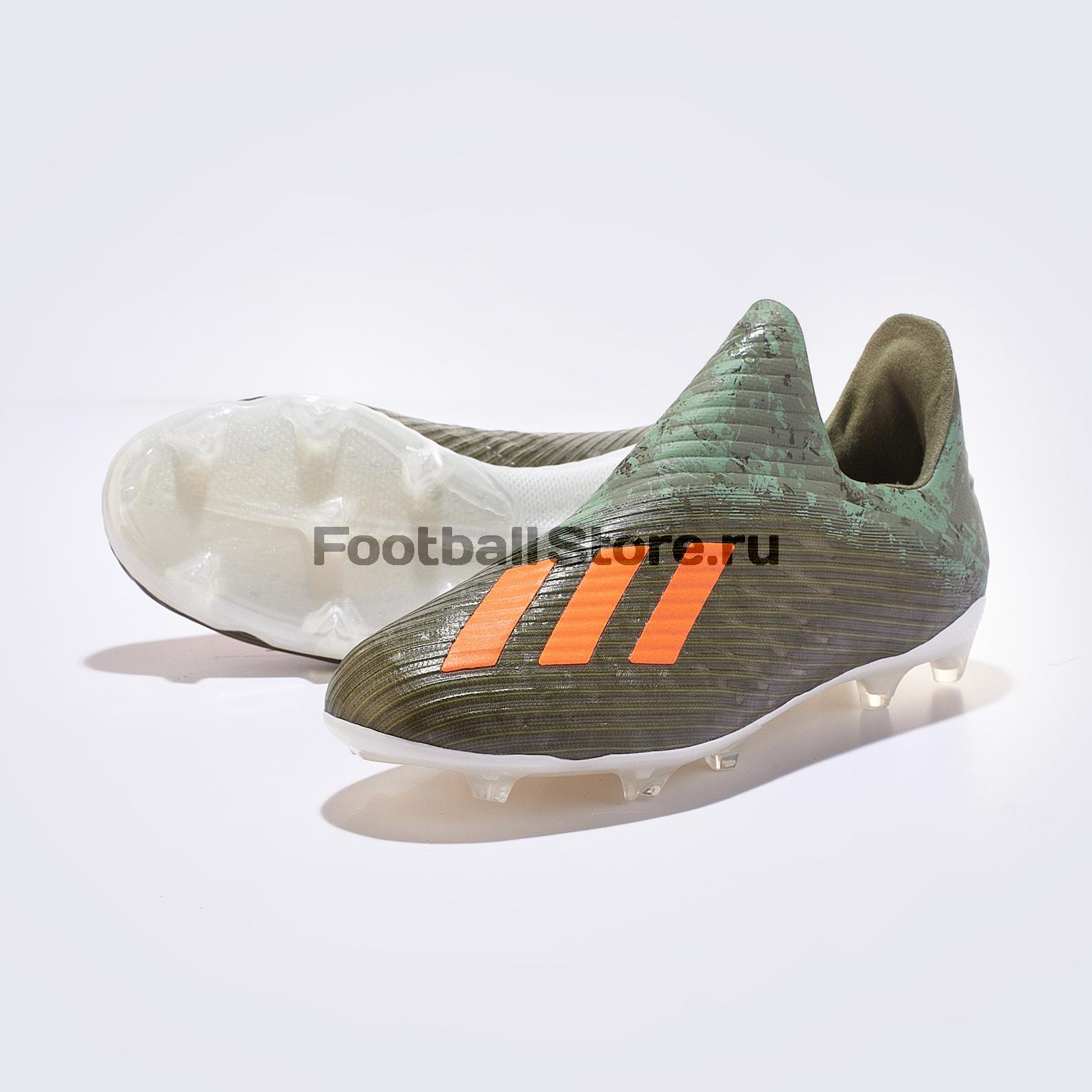 Бутсы детские Adidas X 19+ FG EF8744