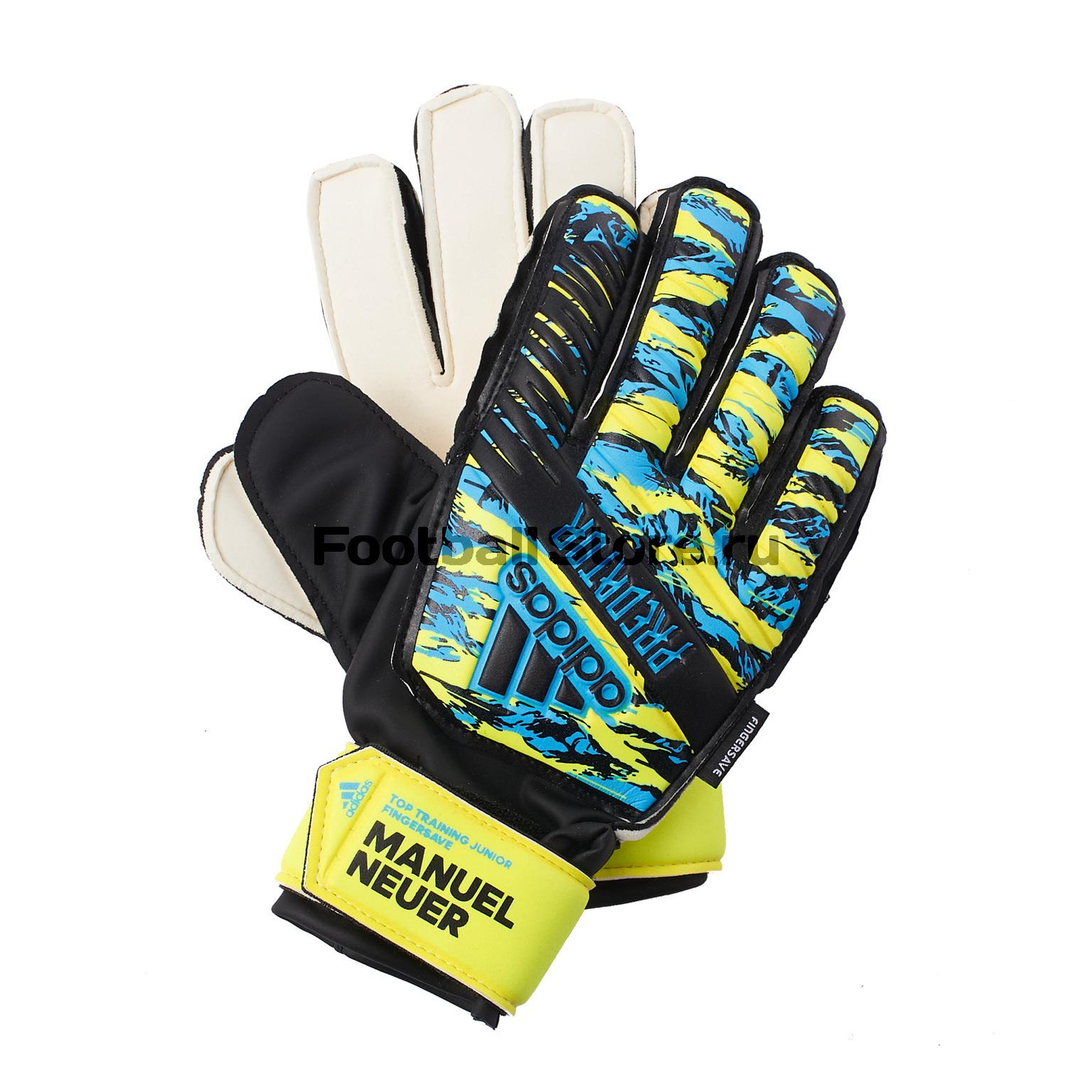 Перчатки вратарские детские Adidas Predator FS Manuel Neuer DY2625