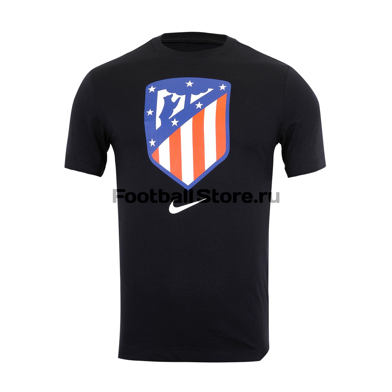 цена на Футболка хлопковая Nike Atletico Madrid AQ7450-010
