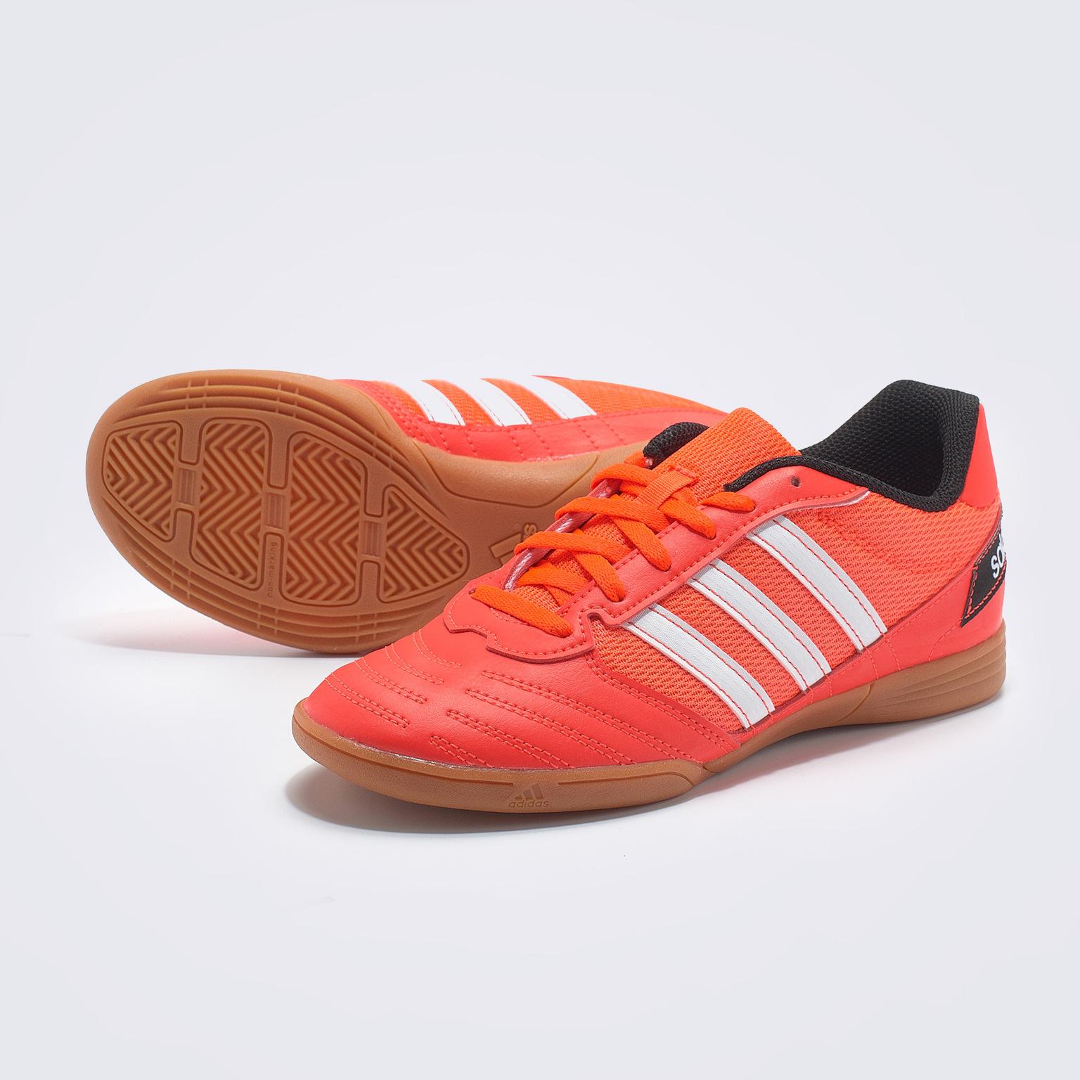 Футзалки детские Adidas Super Sala FV2639 кроссовки детские adidas fortagym cf k цвет фуксия ah2561 размер 34 32