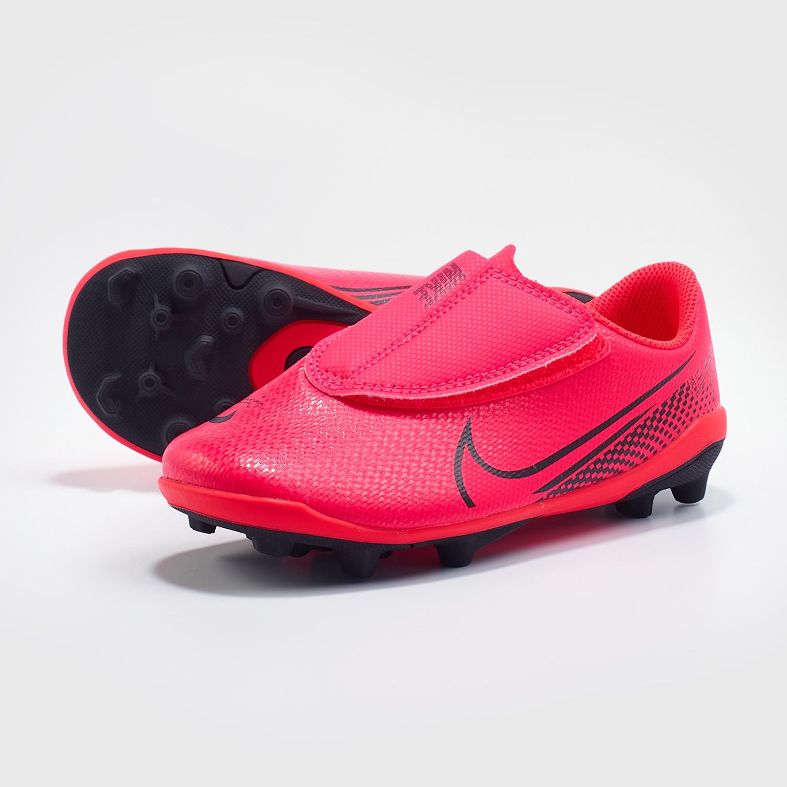 Бутсы детские Nike Vapor 13 Club MG PS AT8162-606 бутсы детские nike vapor 13 club mg ps at8162 010