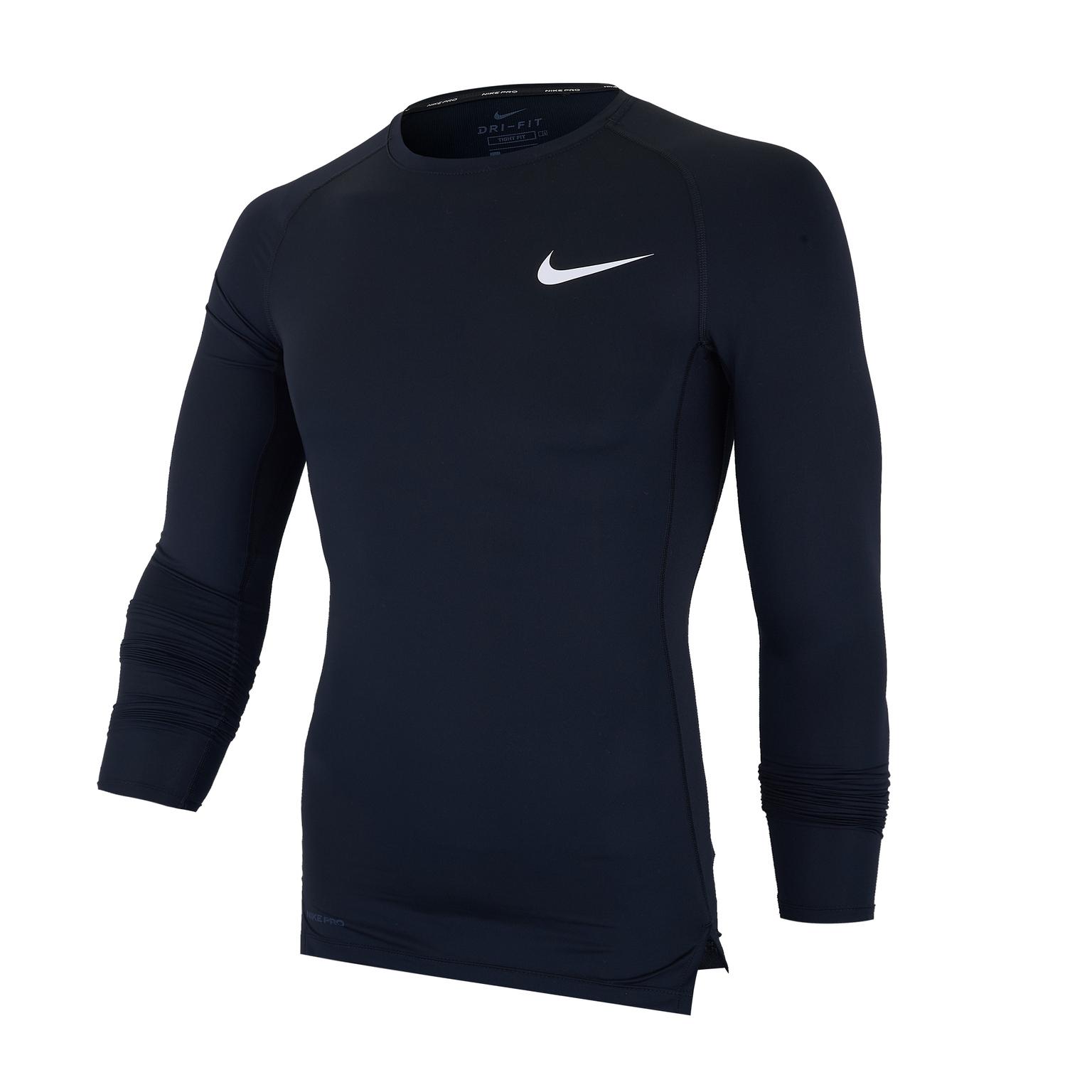 Белье футболка Nike Top Tight BV5588-010