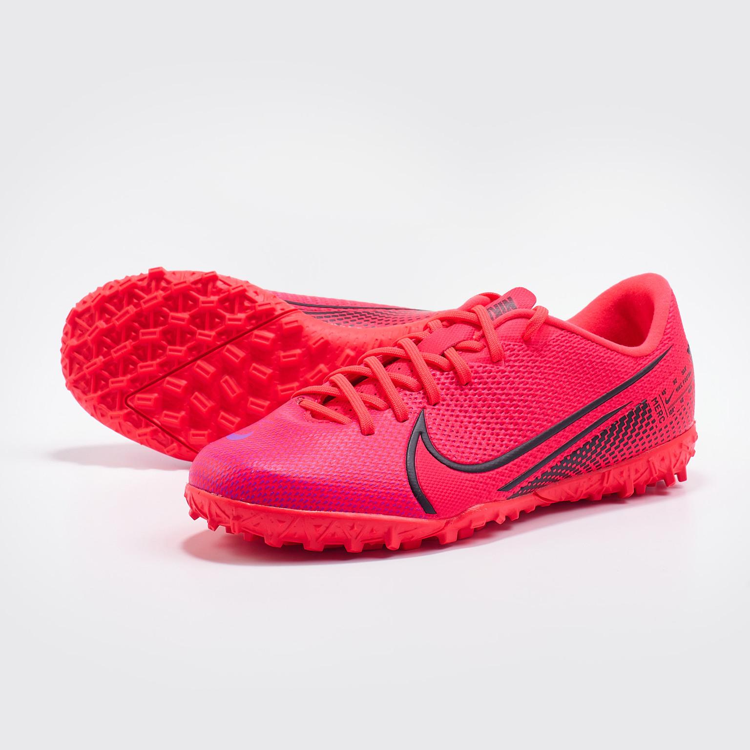 Фото - Шиповки детские Nike Vapor 13 Academy TF AT8145-606 шиповки детские nike vapor 13 academy neymar tf at8144 104