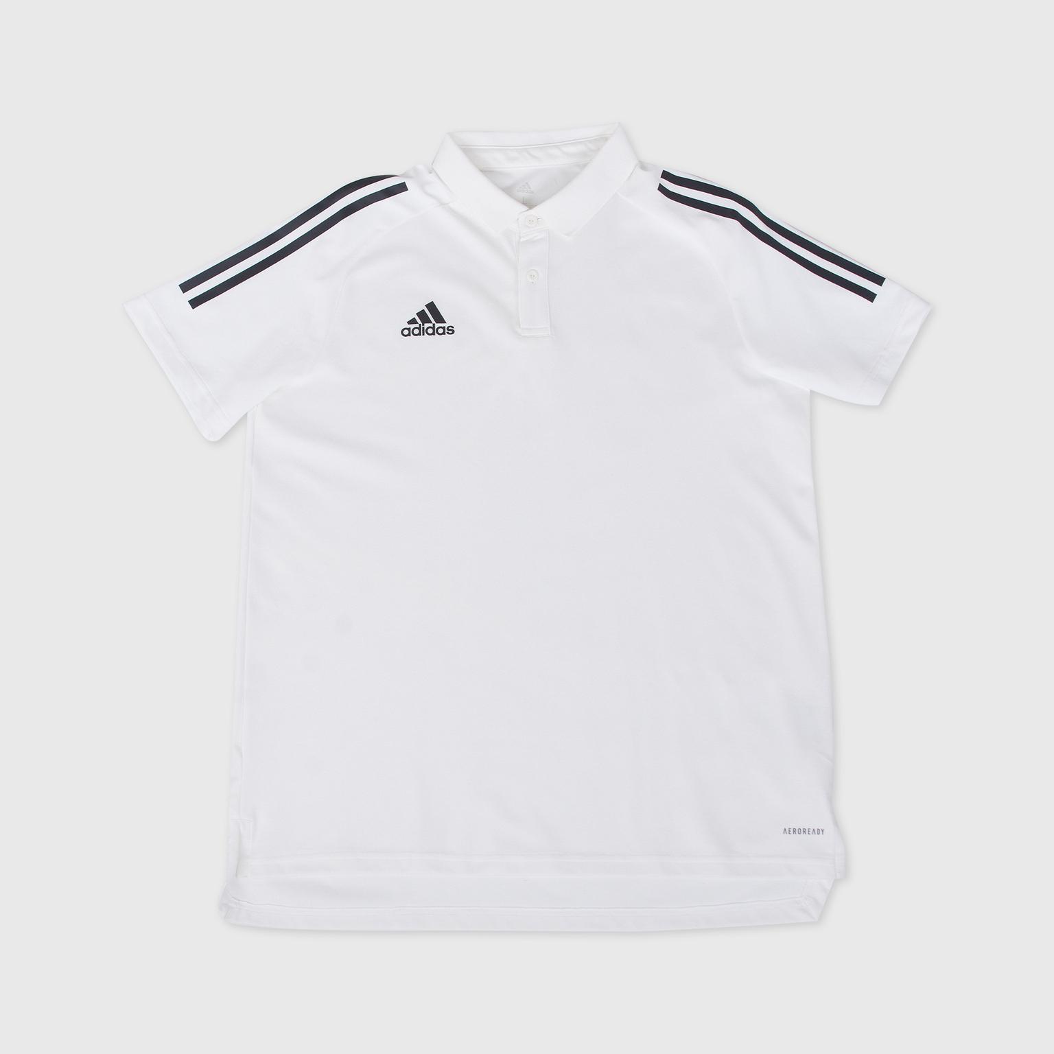 Поло Adidas Con20 Polo EA2517 поло adidas футболка поло pique polo shirt