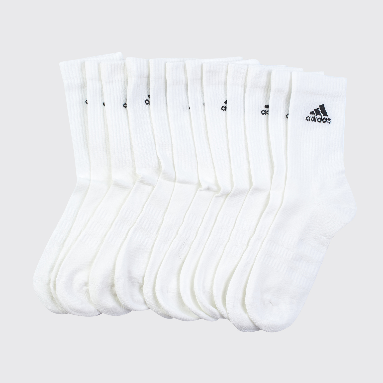 Комплект носков (6 пар) Adidas Cush Crew DZ9353