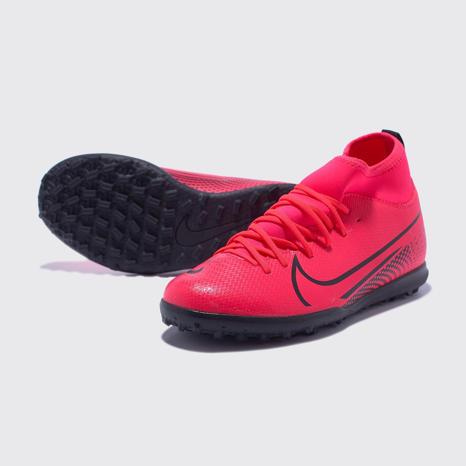 Шиповки детские Nike Superfly 7 Club TF AT8156-606 шиповки nike nike ni464auaapu1