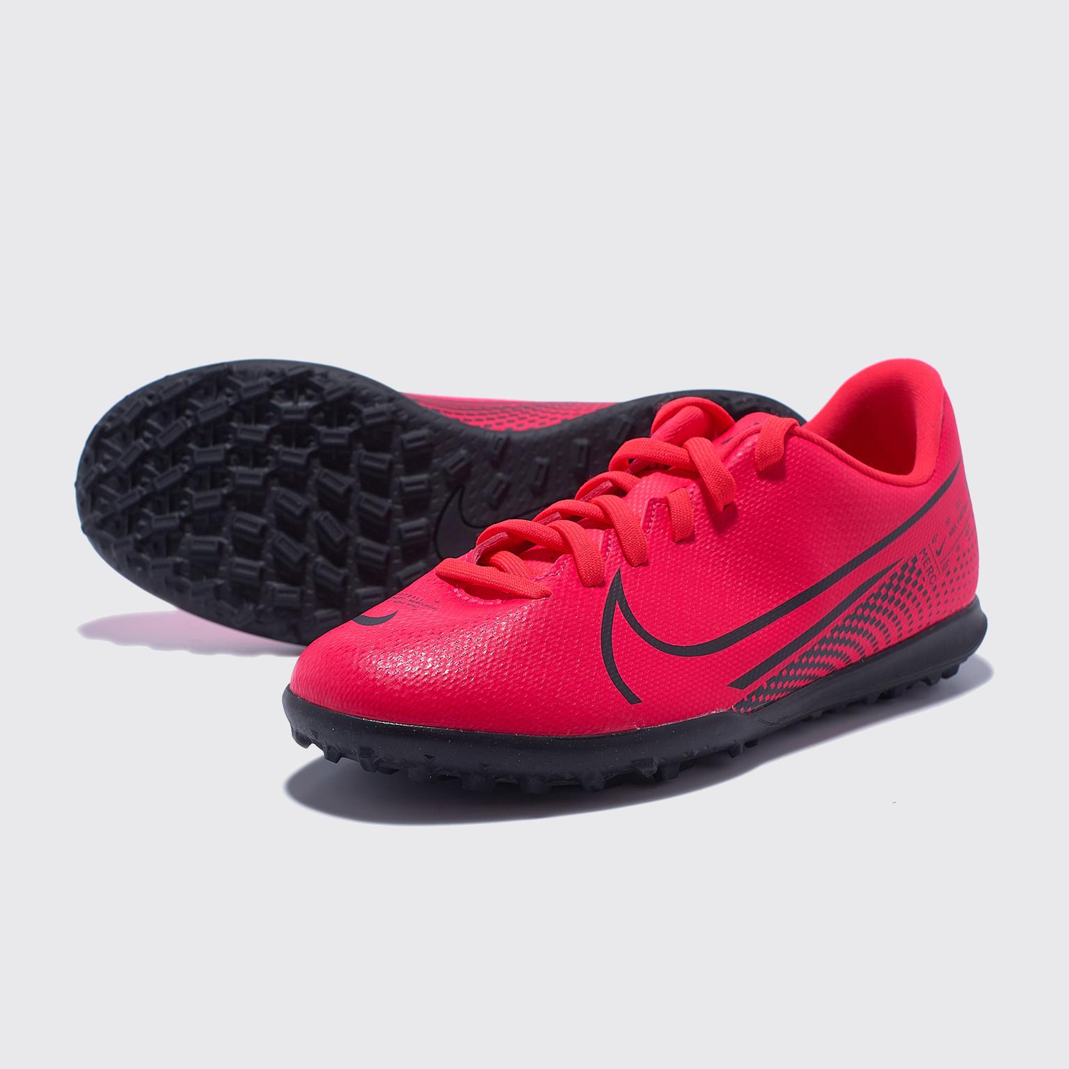 Фото - Шиповки детские Nike Vapor 13 Club TF AT8177-606 шиповки детские nike vapor 13 academy neymar tf at8144 104