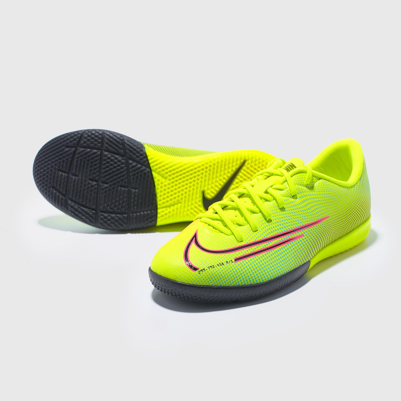 Футзалки детские Nike Vapor 13 Academy MDS IC CJ1175-703 футзалки nike superflyx 6 academy ic ah7369 701