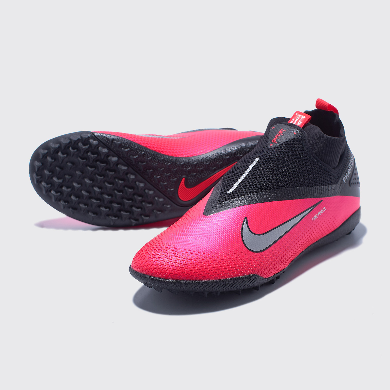 Шиповки Nike React Phantom Vision 2 Pro DF TF CD4174-606 шиповки детские nike phantom vision 2 academy df tf cd4078 606