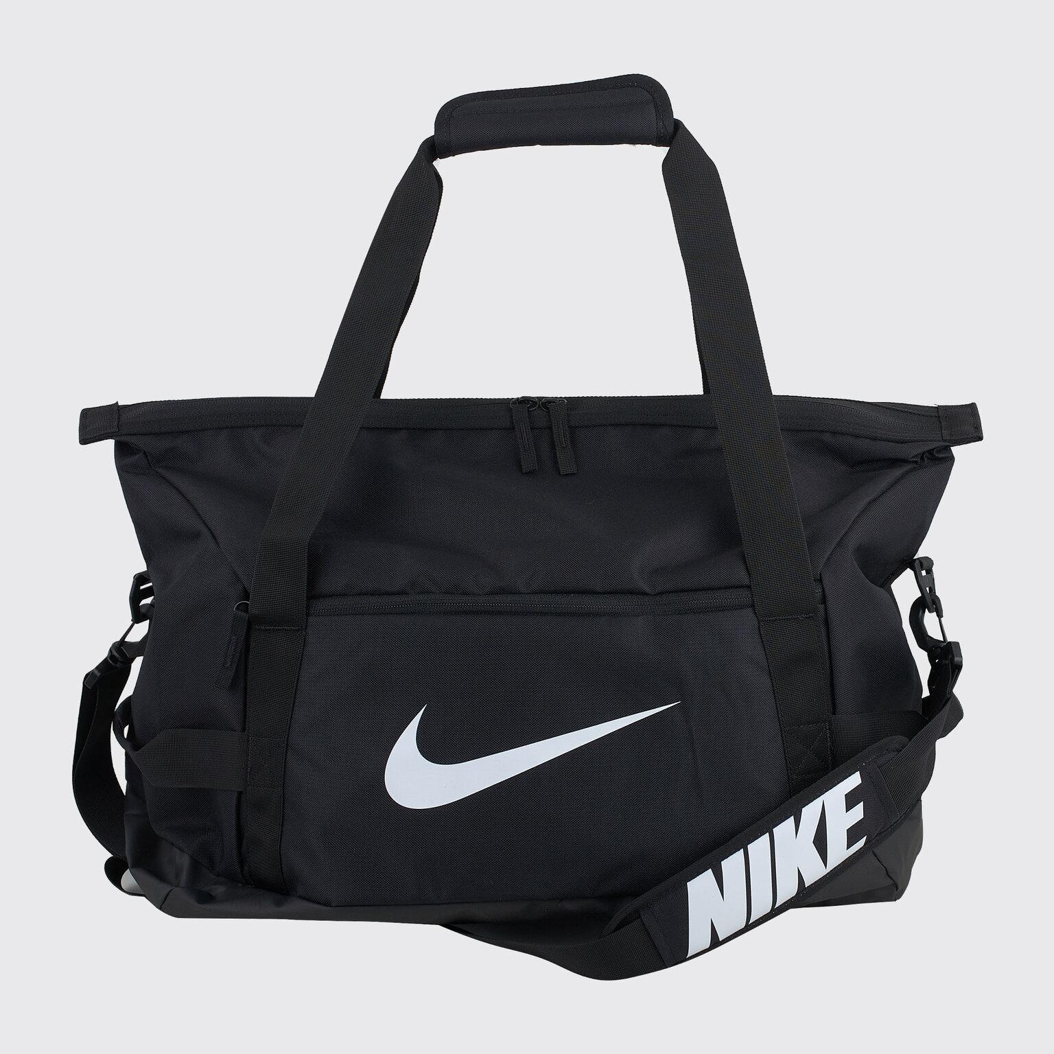 Фото - Сумка Nike Academy Team M CV7829-010 органайзер для хранения вещей eva черное золото 4 отделения 30 х 30 х 10 см