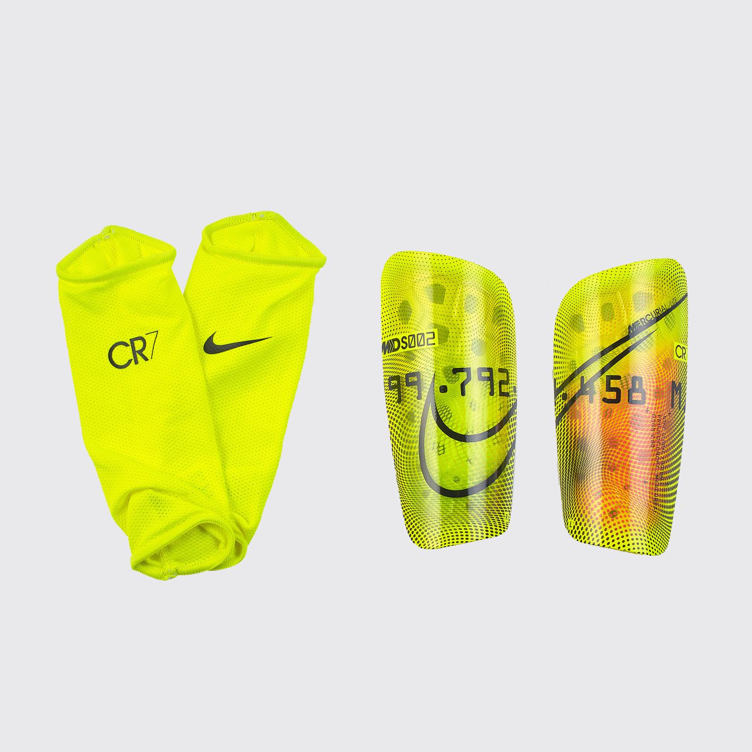 Щитки Nike Mercurial CR7 Lite CT0720-757 обувь для зала nike mercurial x finale ii ic 831974 616