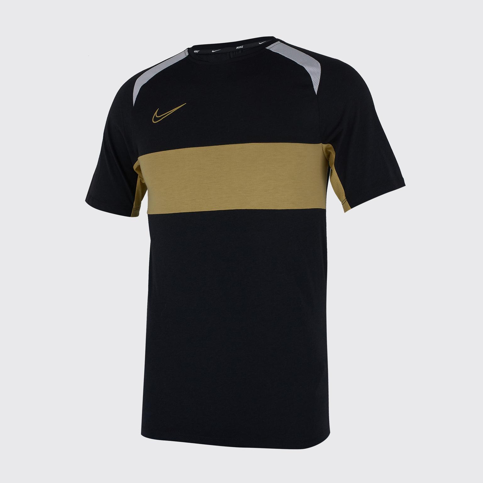 цена Футболка тренировочная Nike Dry Academy Top BQ7352-010 онлайн в 2017 году