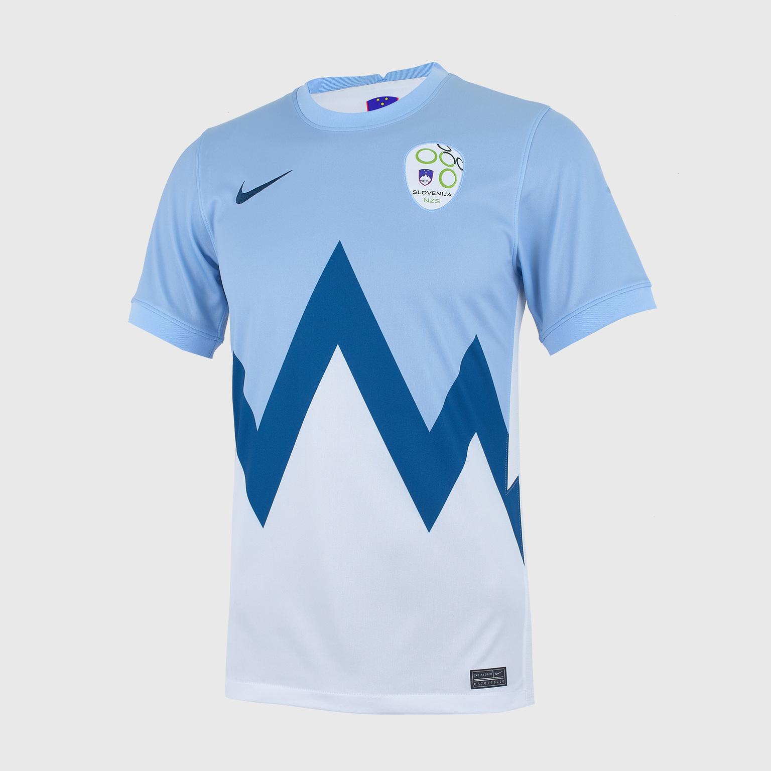 Футболка домашняя Nike сборной Словении CD0733-436