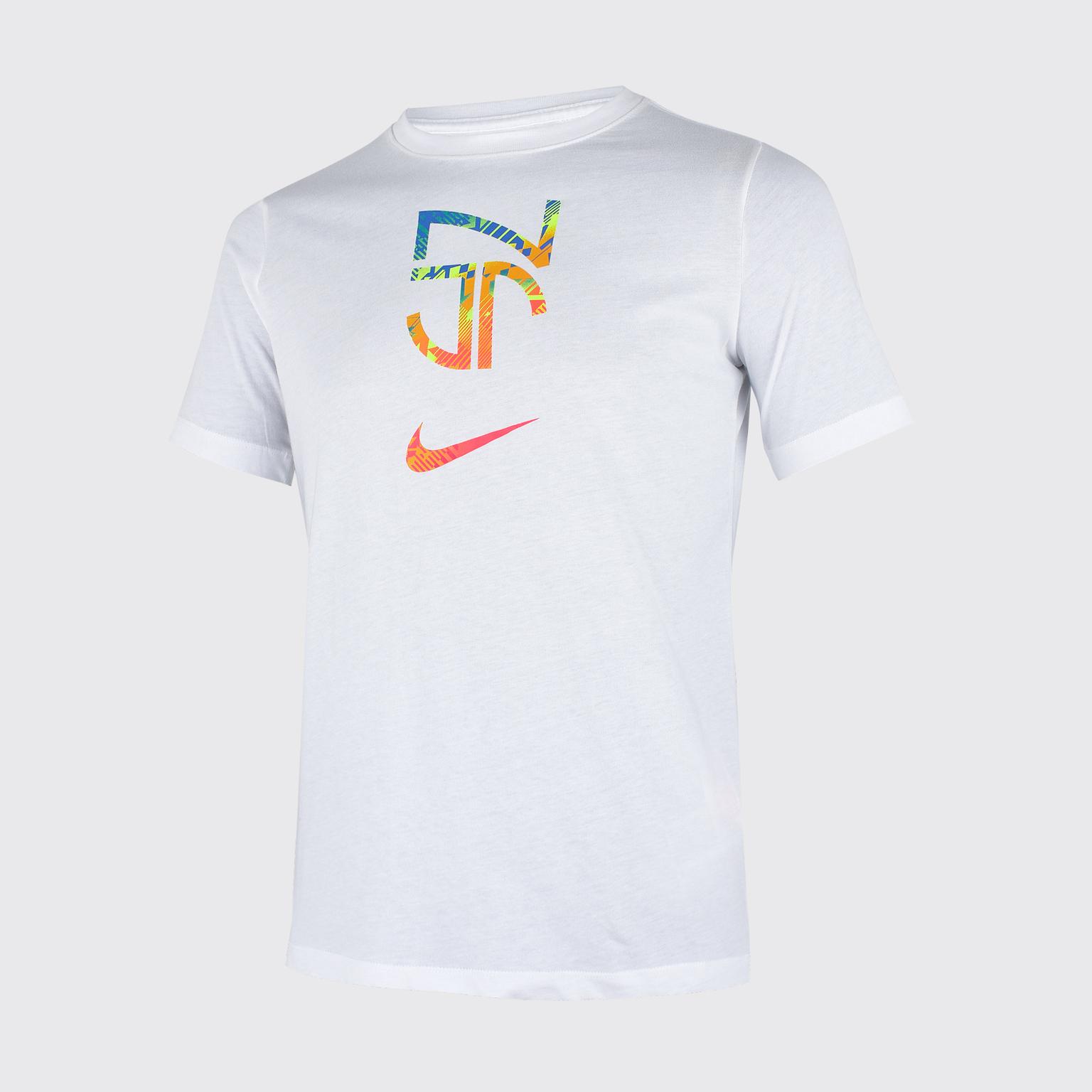 Футболка подростковая Nike Neymar Tee Hero CD0174-100 футболка подростковая nike team club blend tee 658494 451