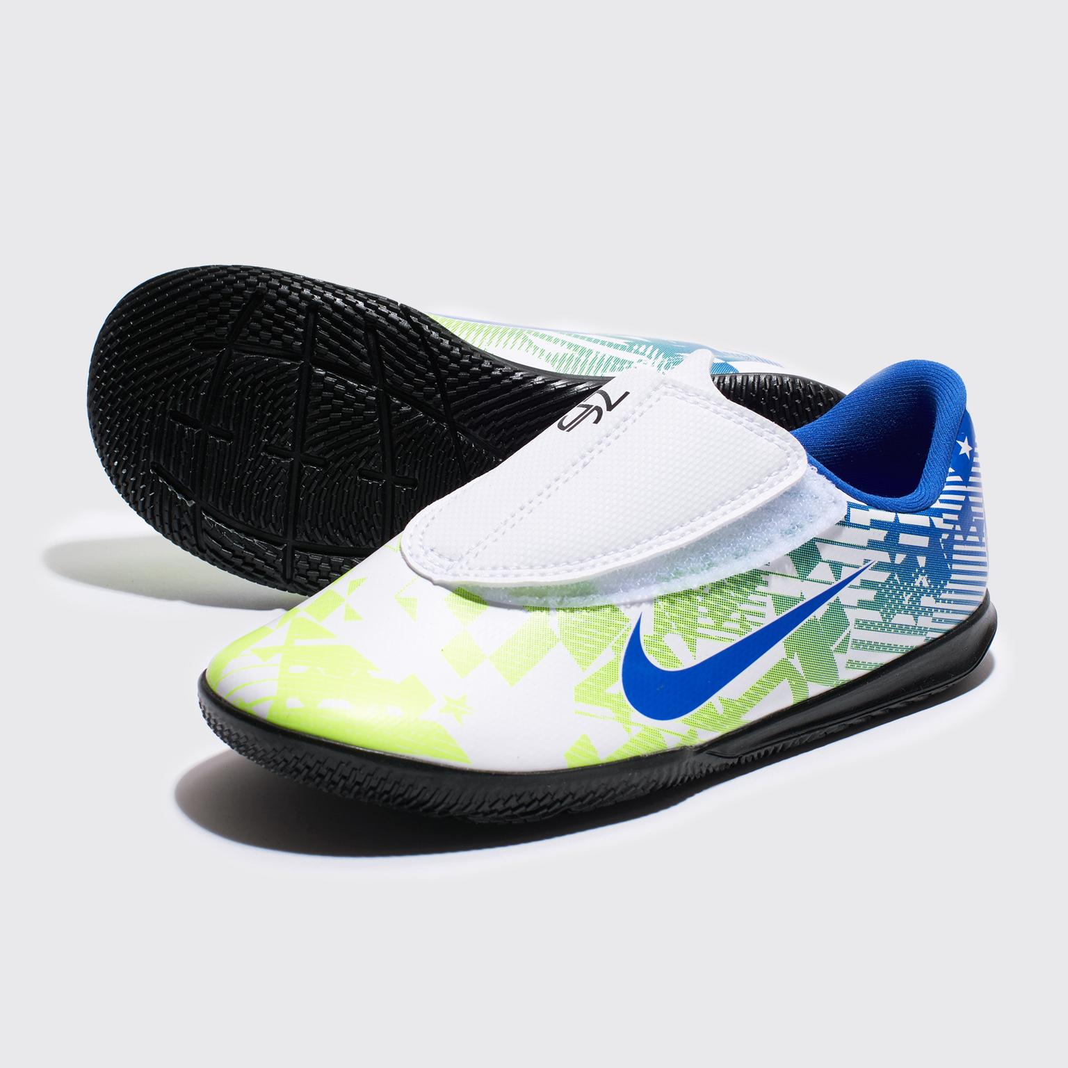 Фото - Футзалки детские Nike Vapor 13 Club Neymar IC PS AT8171-104 шиповки детские nike vapor 13 academy neymar tf at8144 104
