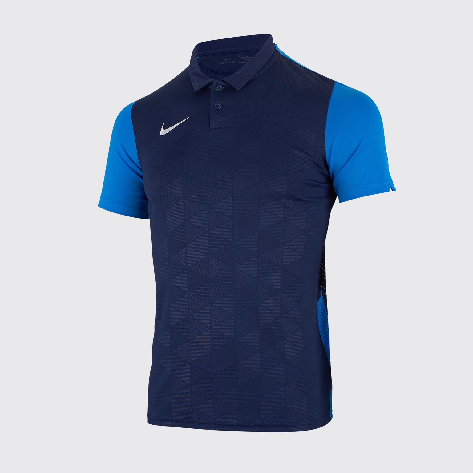 Футболка игровая подростковая Nike Trophy IV BV6749-410 футболка игровая nike trophy iv bv6725 413
