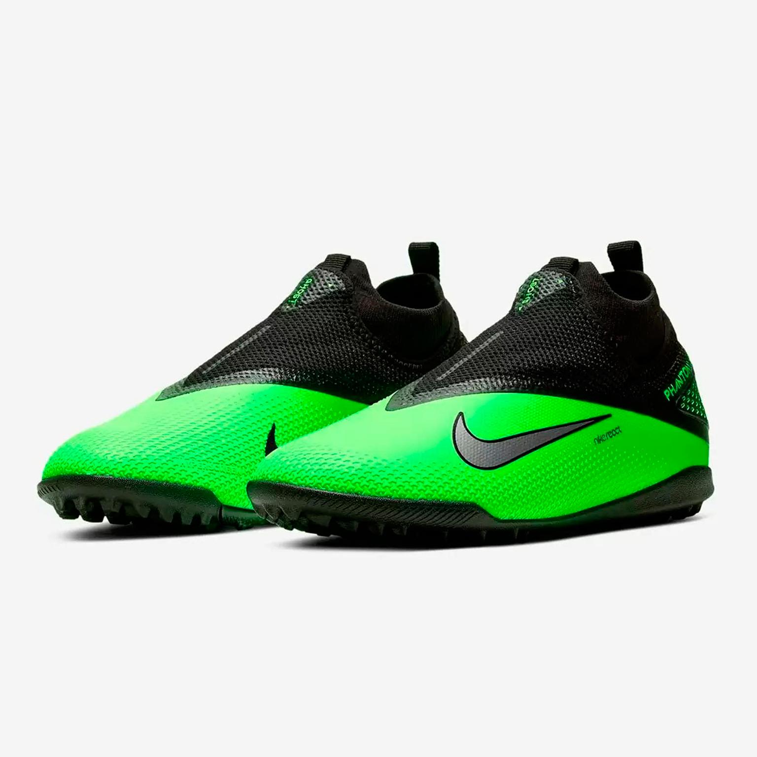 Шиповки Nike React Phantom Vision 2 Pro DF TF CD4174-036 шиповки детские nike phantom vision 2 academy df tf cd4078 606