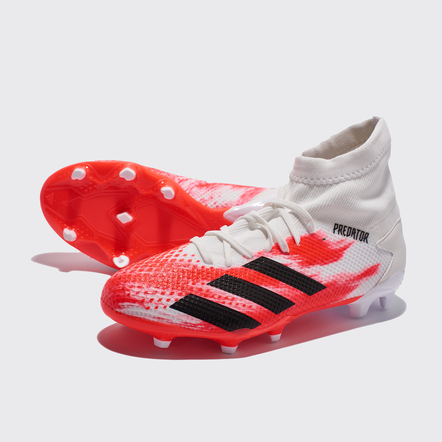 Бутсы Adidas Predator 20.3 FG EG0910 бейсболка adidas adidas ad002cufkng9