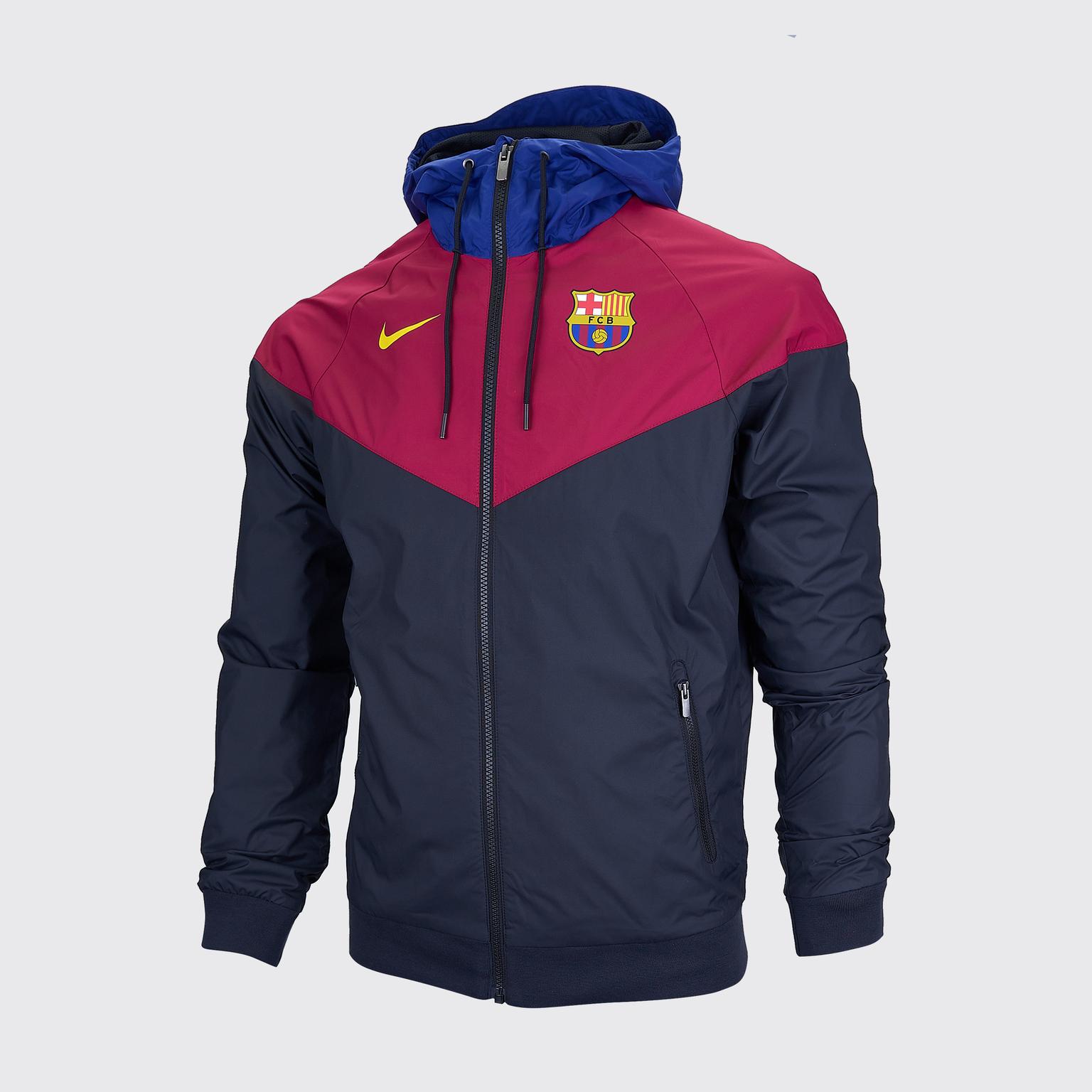 цена Ветровка Nike Barcelona сезон 2020/21 онлайн в 2017 году