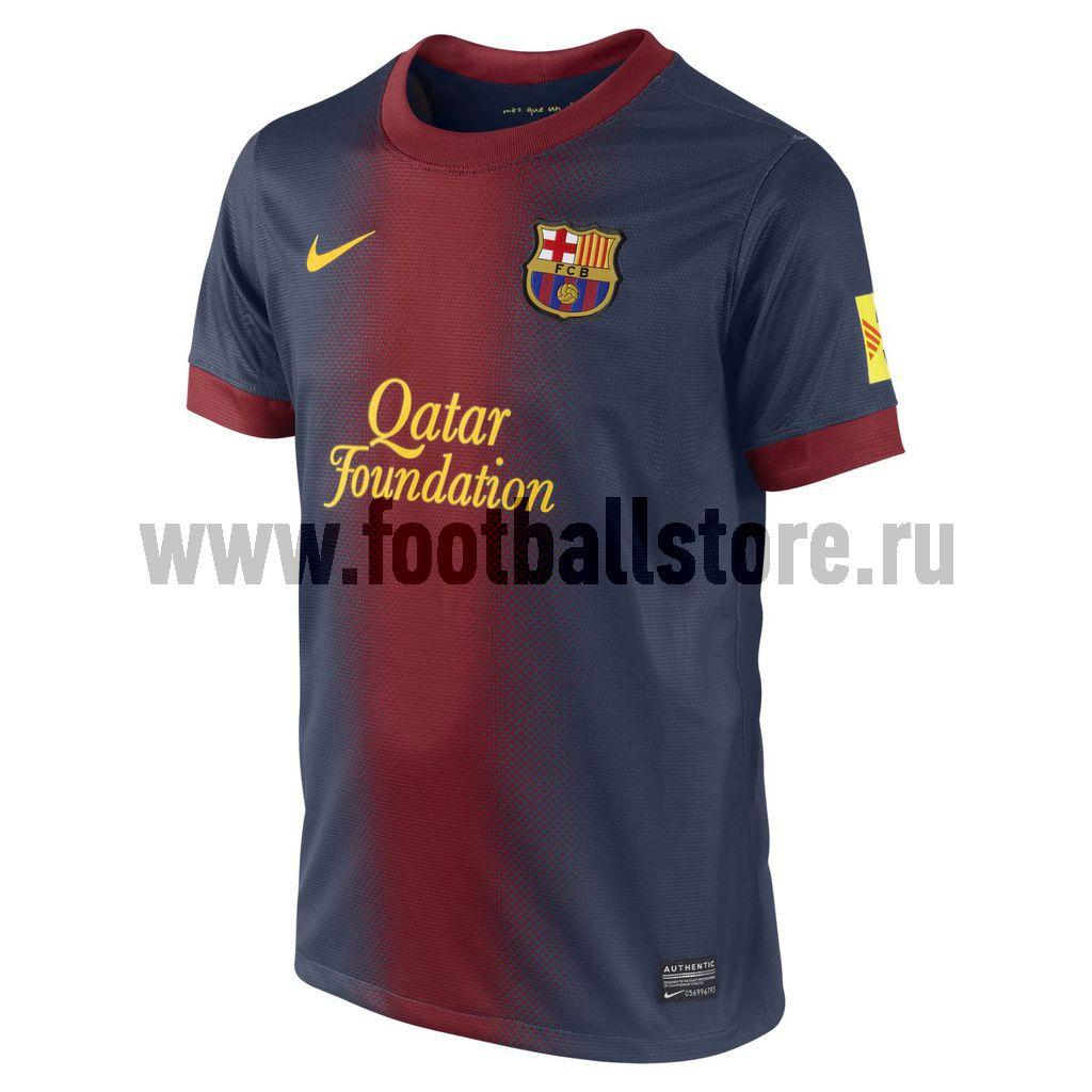Клубная продукция Nike Футболка Nike Barcelona Boys SS Home Repl JSY 478313-410