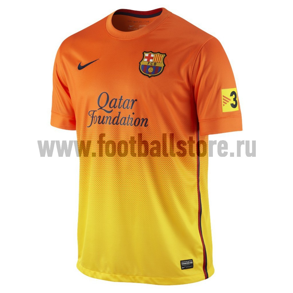 Barcelona Nike Футболка Nike Barcelona SS Away Repl JSY 478326-815