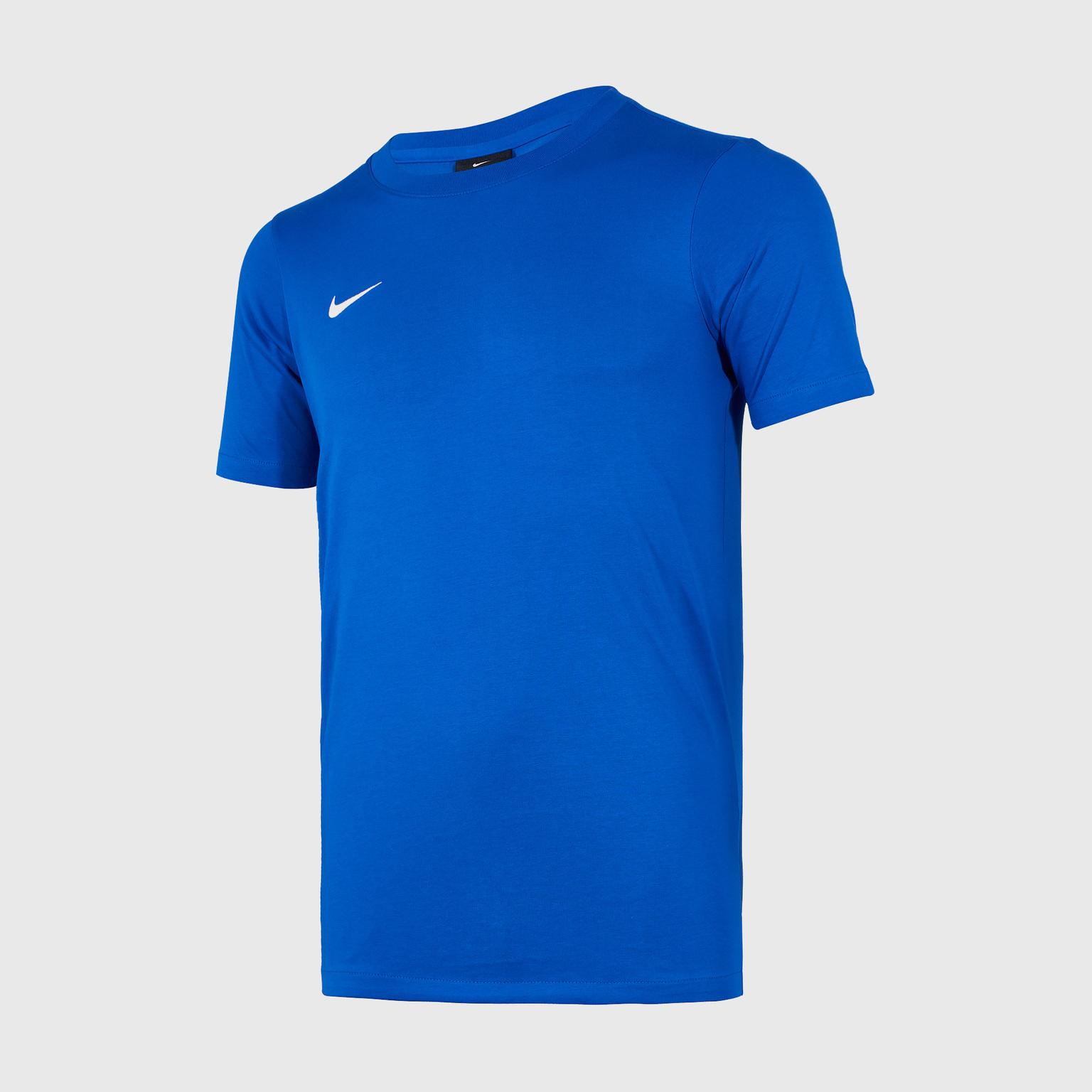 Футболка тренировочная подростковая Nike Tee Club19 SS AJ1548-463 футболка подростковая nike team club blend tee 658494 451