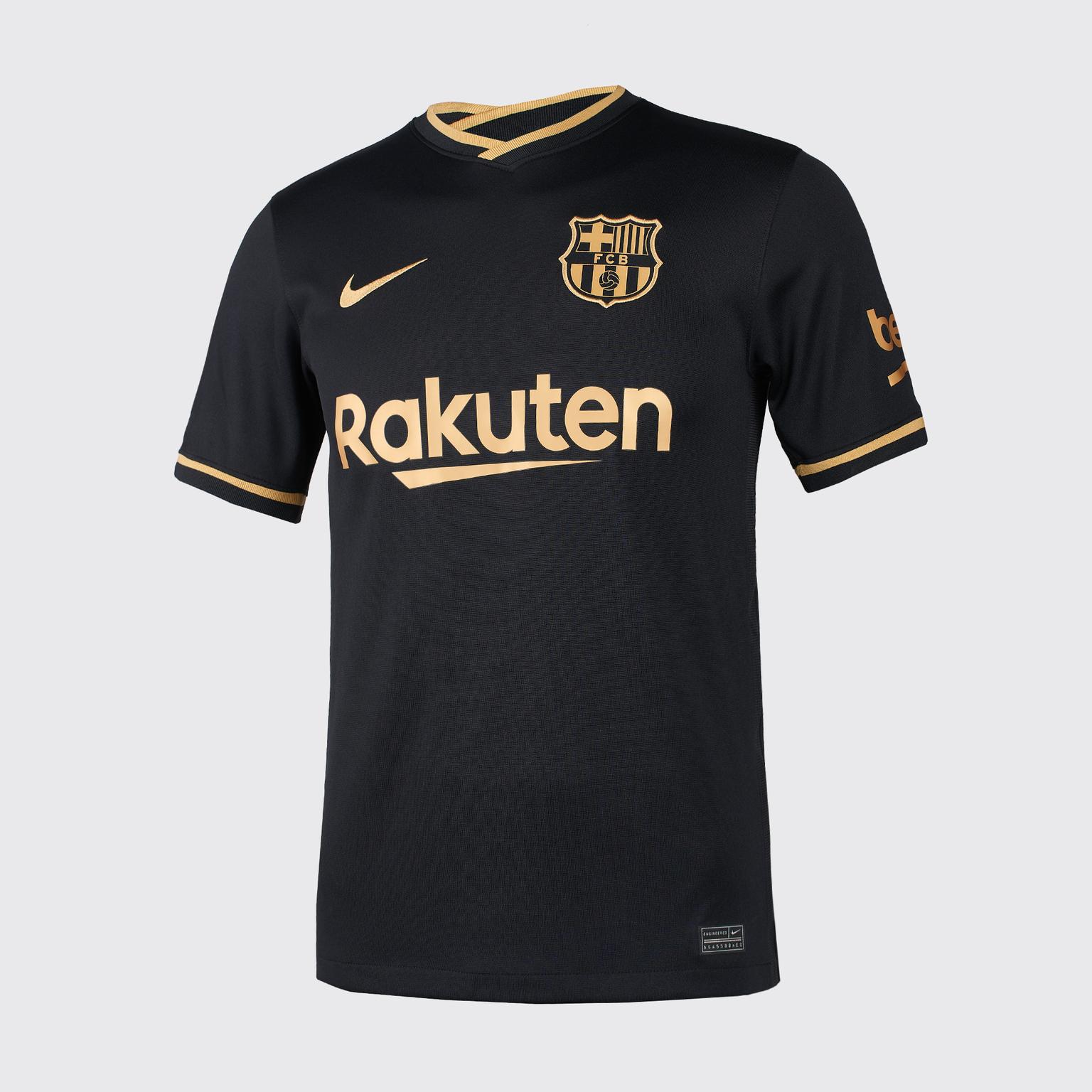 Фото - Футболка игровая выездная Nike Barcelona сезон 2020/21 выездная игровая футболка nike фк зенит 2019 20