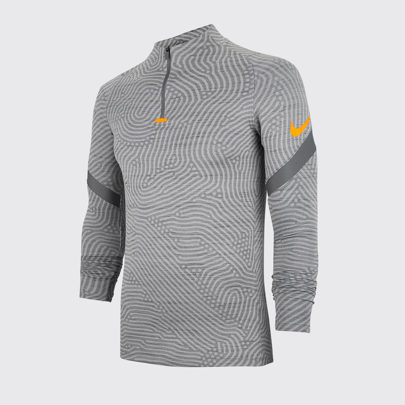 Фото - Свитер тренировочный Nike Dry Strike Dril Top CD0564-084 свитер тренировочный nike dry academy18 dril top ls 893624 451