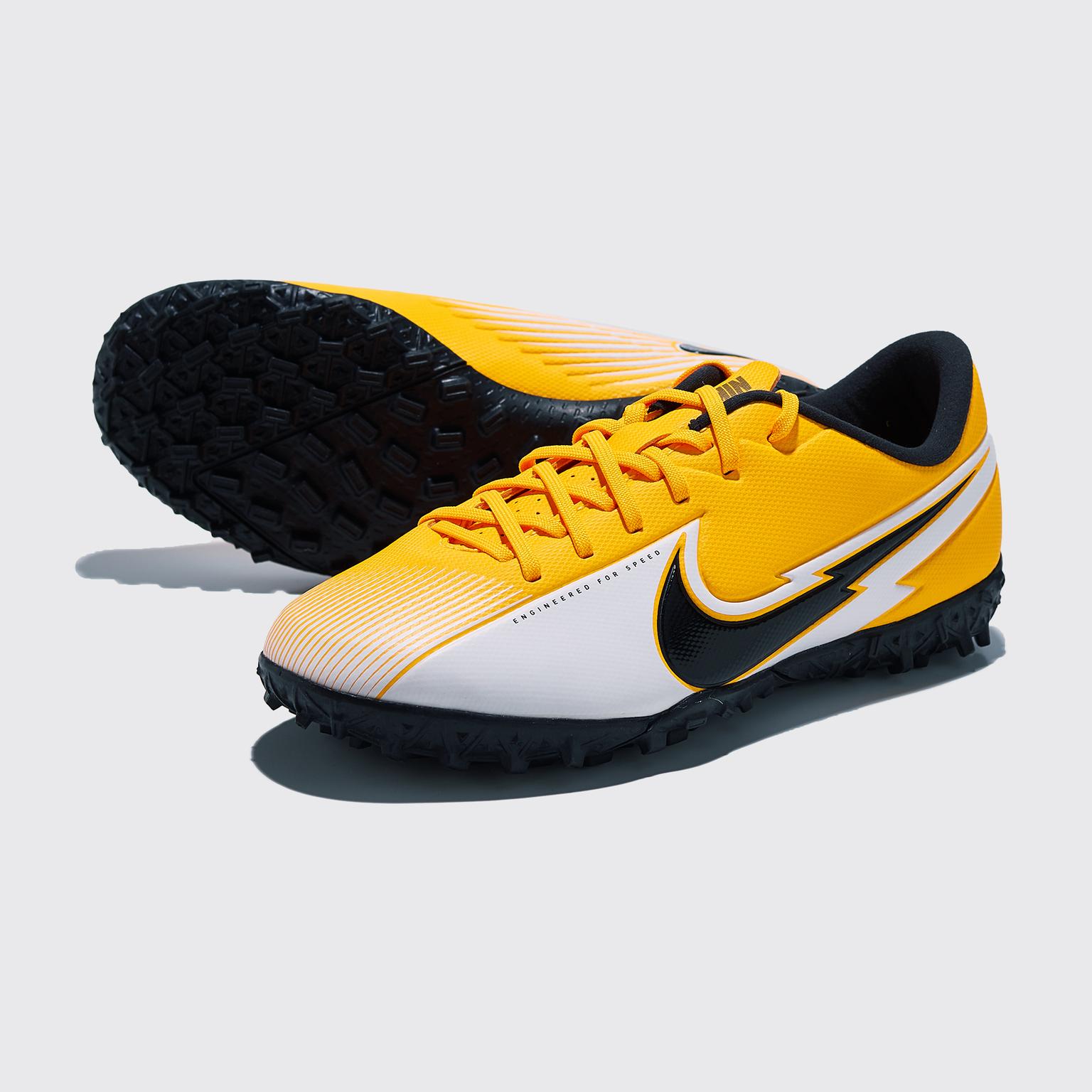 Фото - Шиповки детские Nike Vapor 13 Academy TF AT8145-801 шиповки детские nike vapor 13 academy neymar tf at8144 104